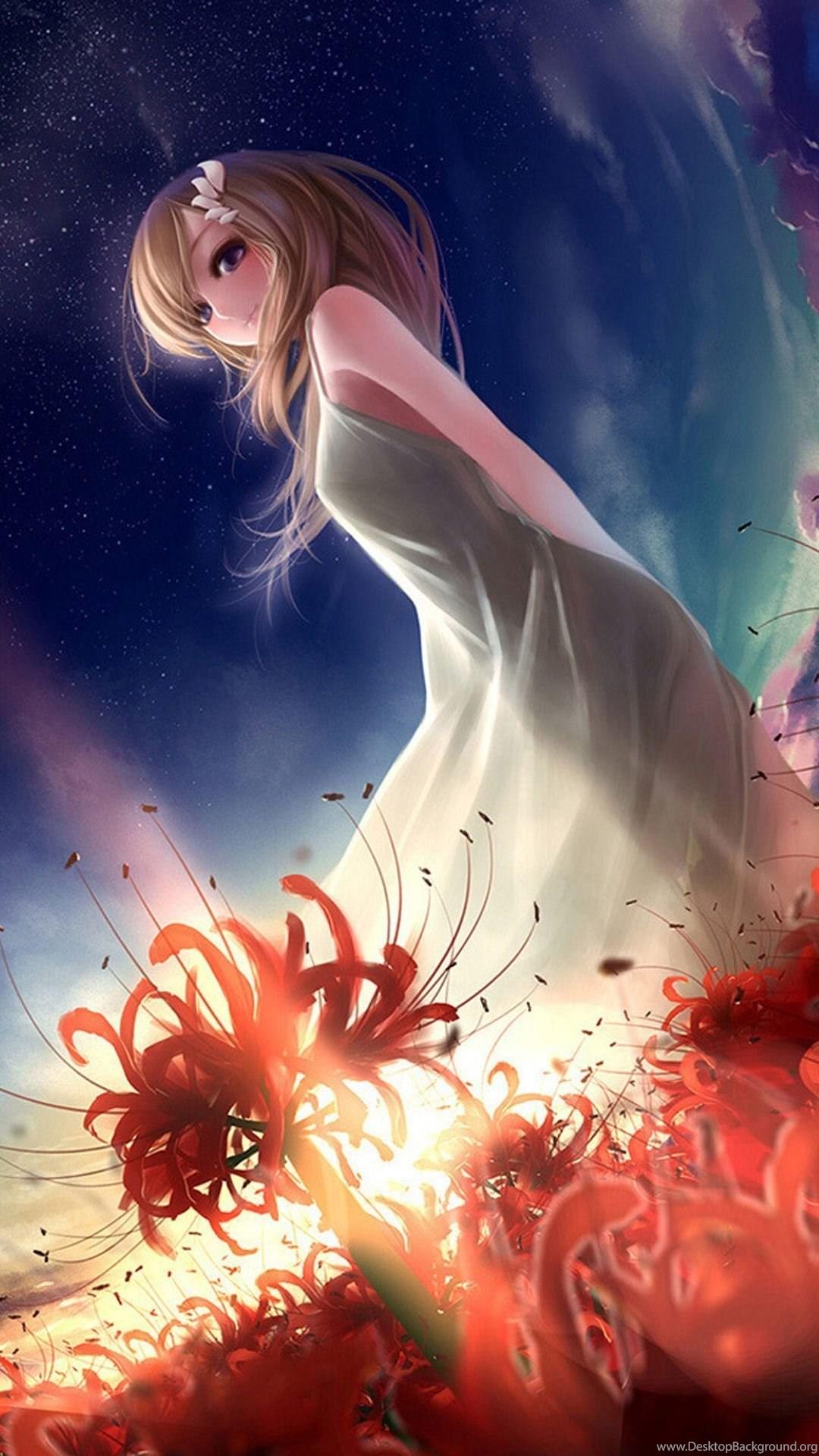 Android Animated Wallpaper 1080x1920 Girls Anime Desktop