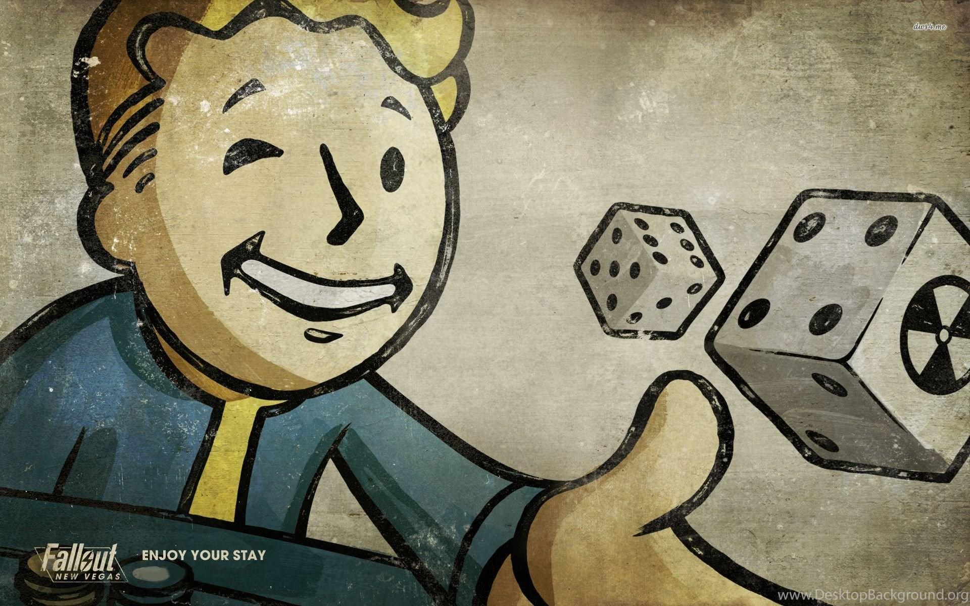 Vault Boy Fallout New Vegas Wallpapers Game Wallpapers Desktop
