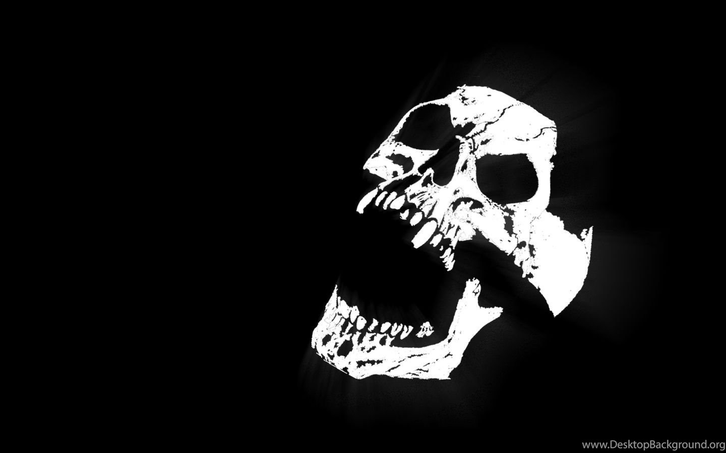 Black And White Skull Wallpapers Hd Wallpapers Pretty Desktop