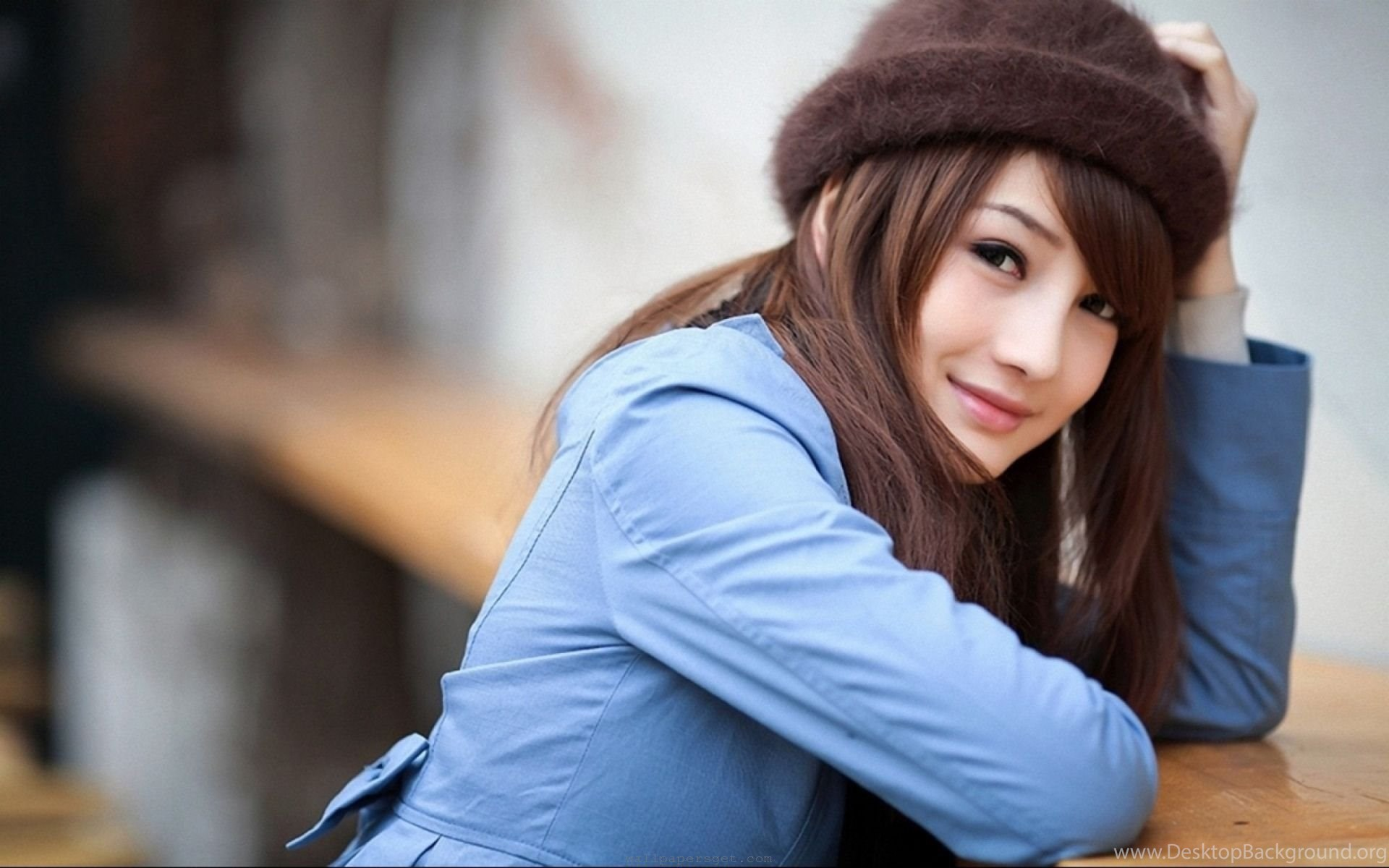 Beautiful Japanese Girls Wearing Cap ...