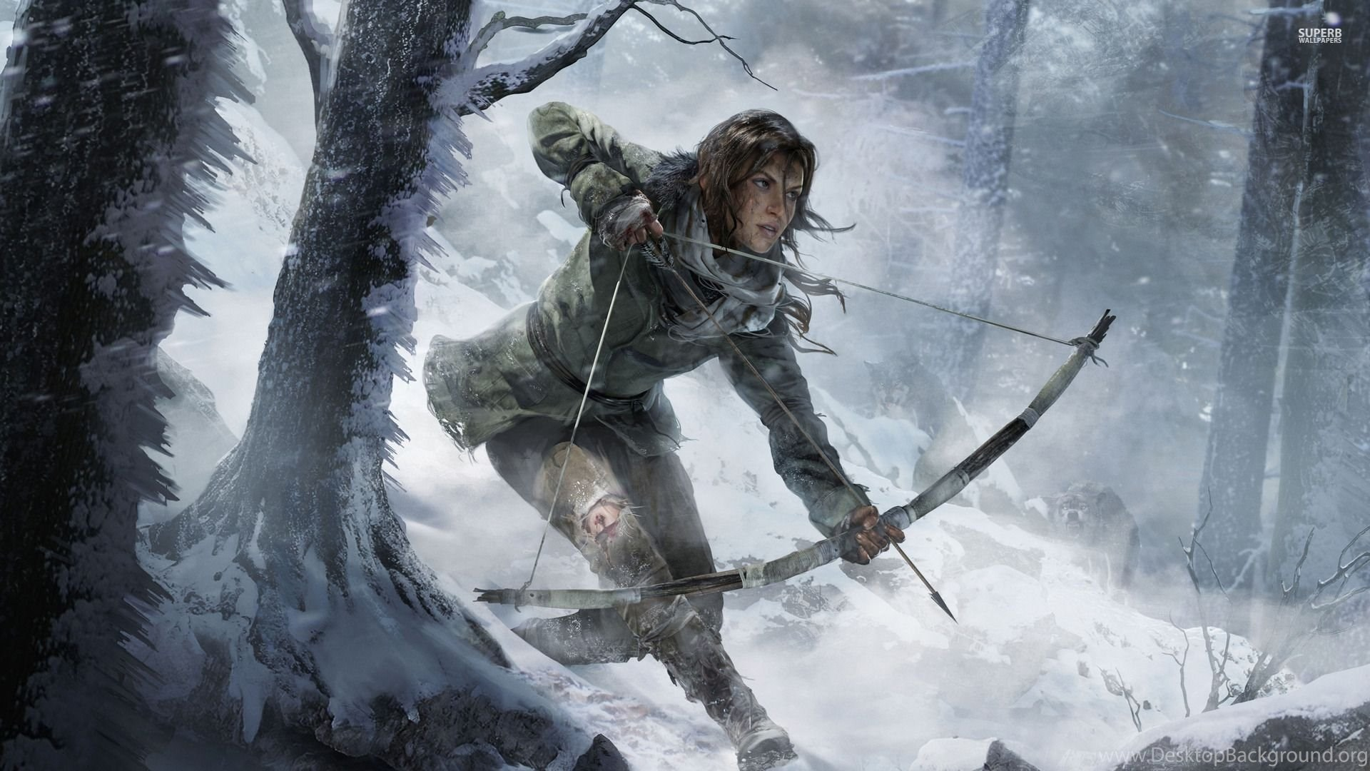 Lara Croft Rise Of The Tomb Raider Wallpapers Game Wallpapers