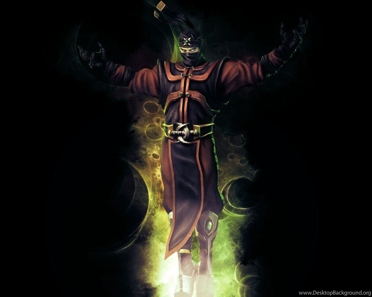 DeviantArt More Like MK9 Ermac Wallpapers By Reaper The Creeper
