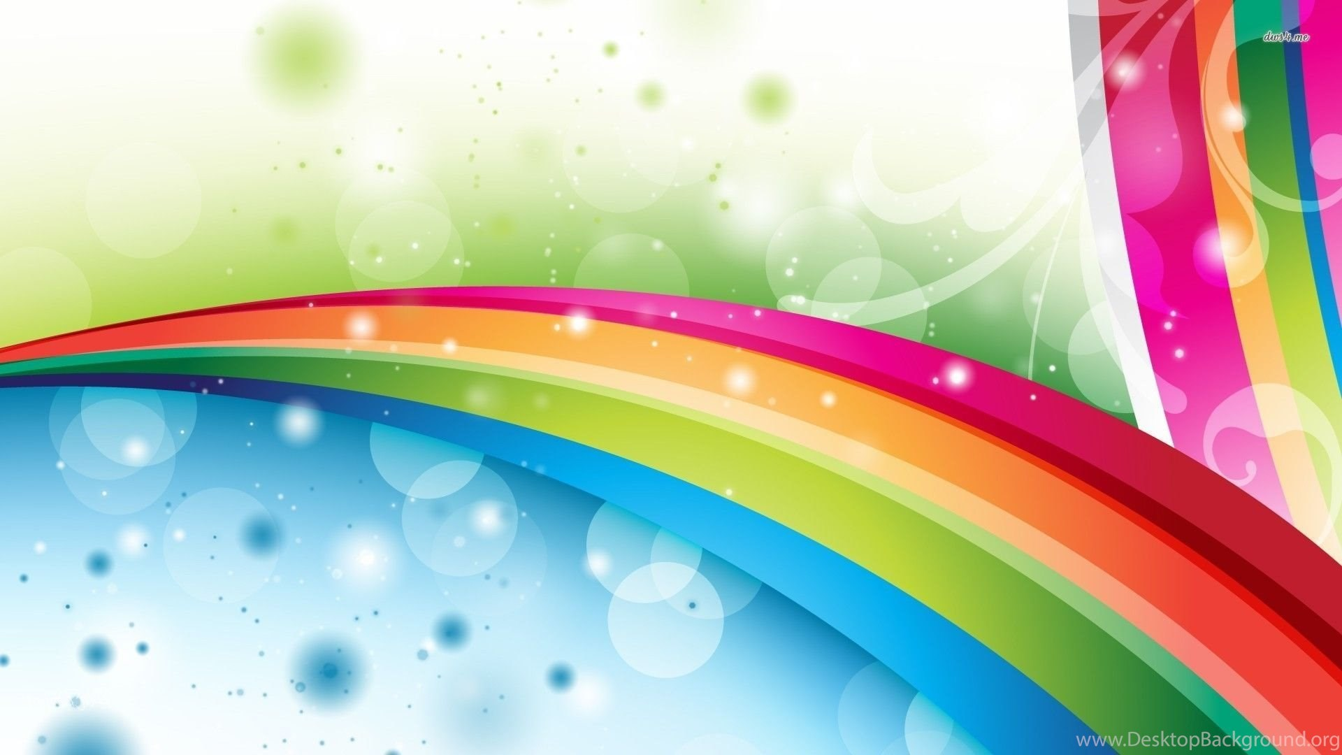 Rainbow Abstract Backgrounds Free Wallpapers Page Desktop ...