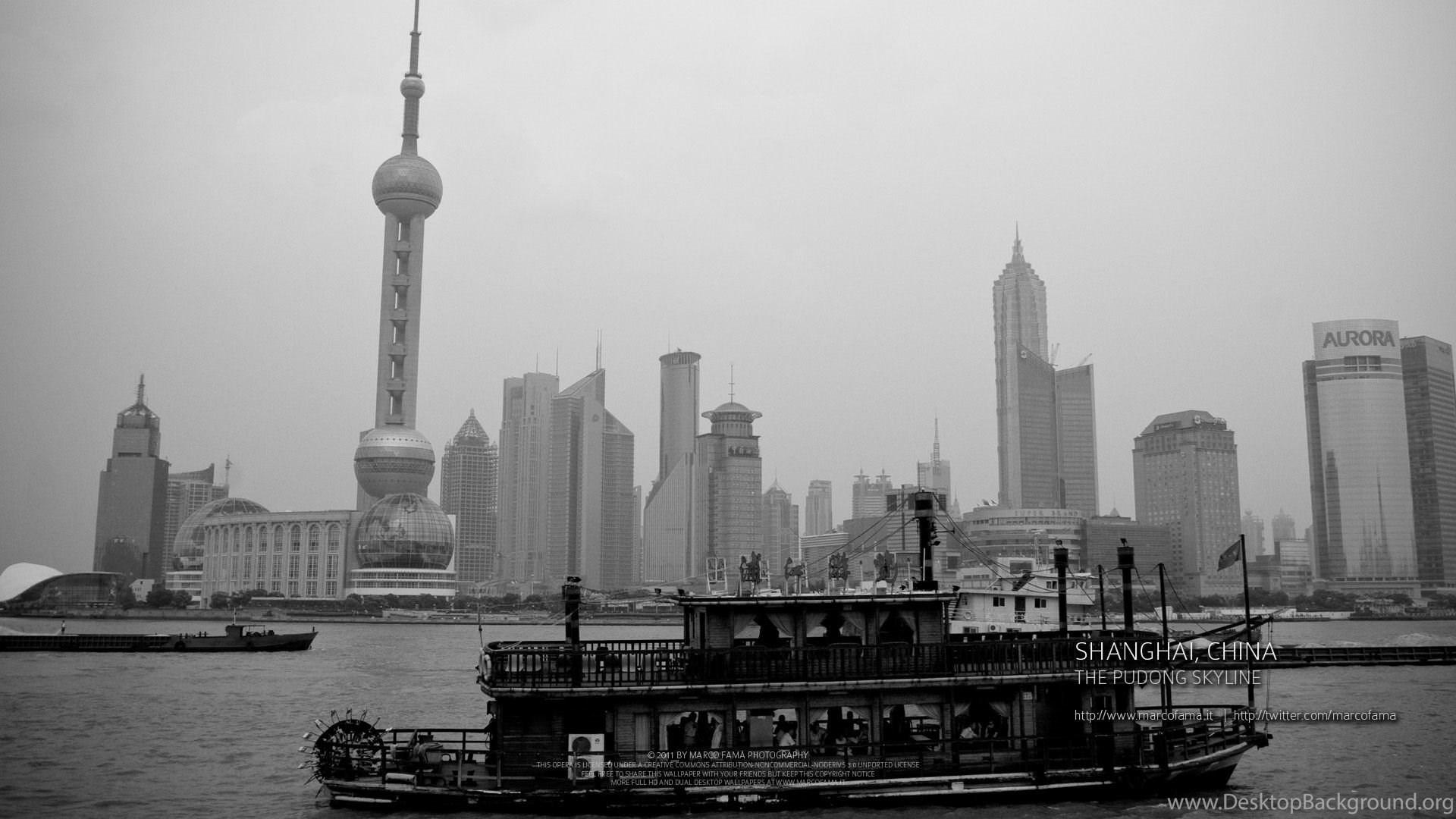 Shanghai Wallpapers 129032 Desktop Background