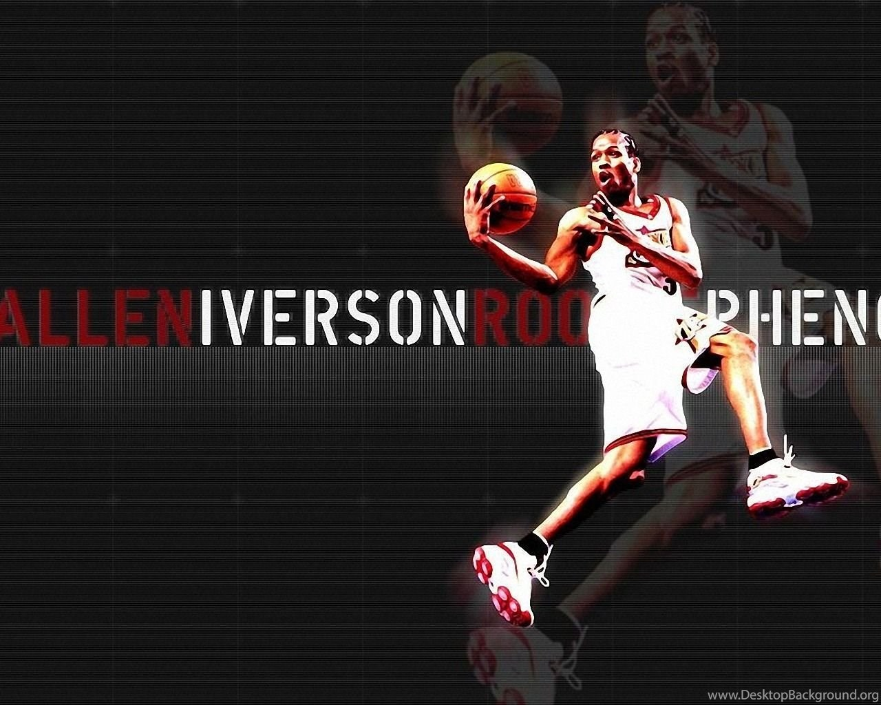 Gallery For Allen Iverson Wallpapers 76ers Desktop Background