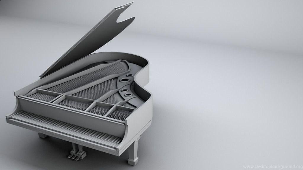 Grand Piano Wallpaper Desktop Background