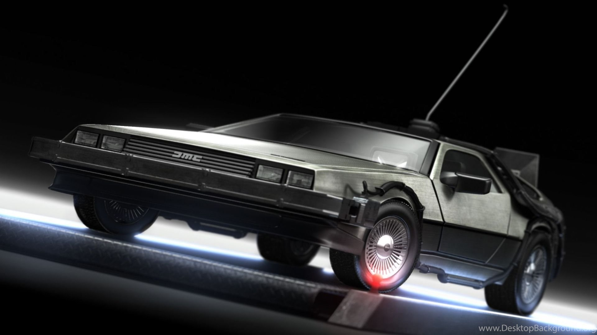 delorean wallpapers back to the future free wallpapers page desktop
