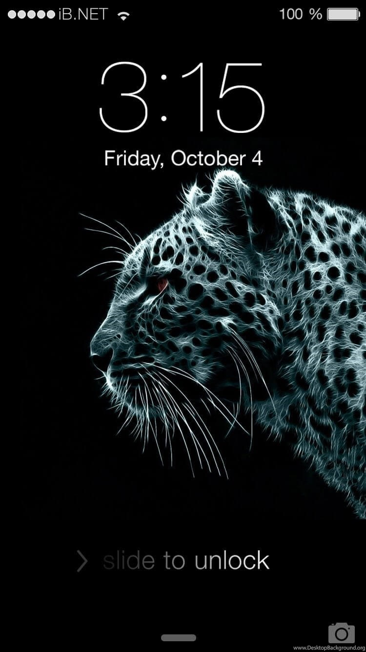 Black Tiger IPhone 4 Wallpapers Desktop Background