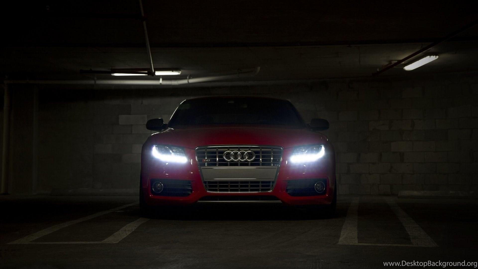 Download Beautiful Red Audi Car Wallpapers Desktop Background