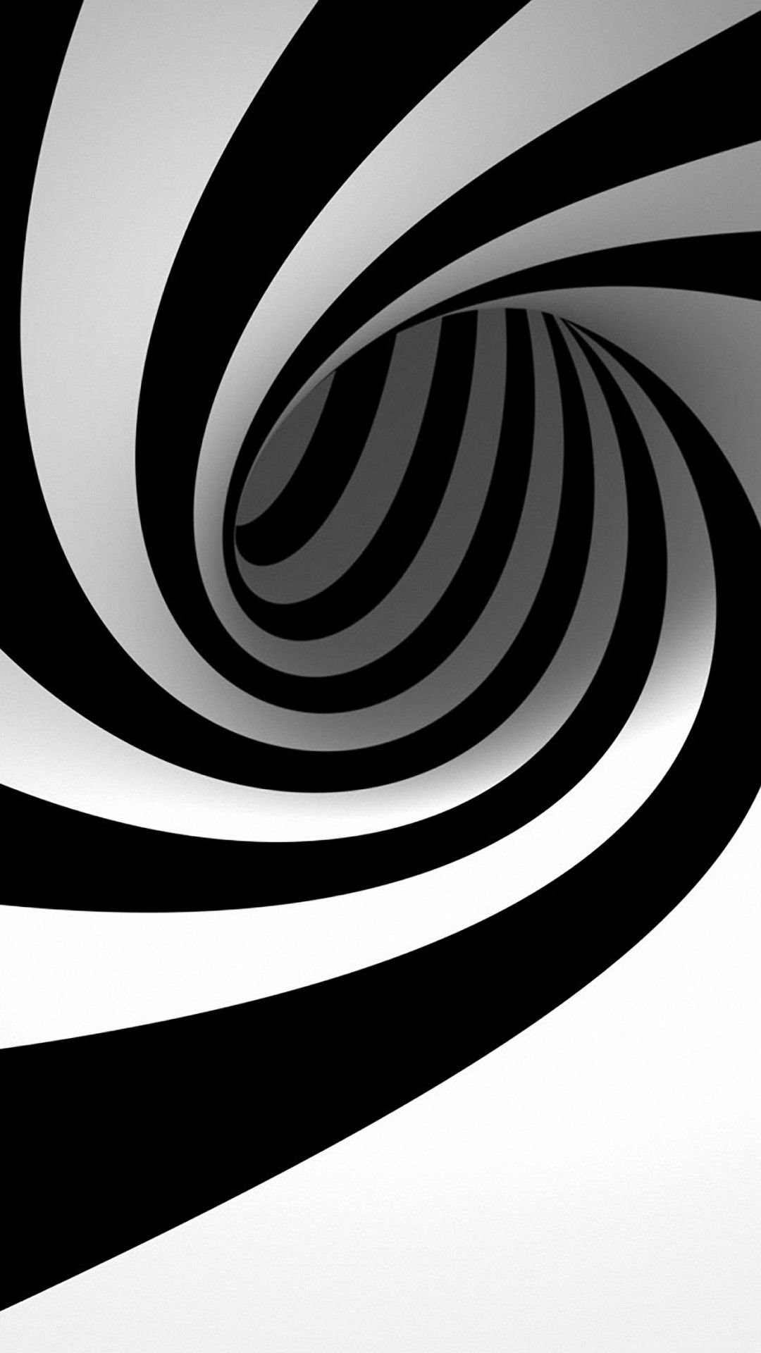 127157 3d black and white iphone 6s wallpapers