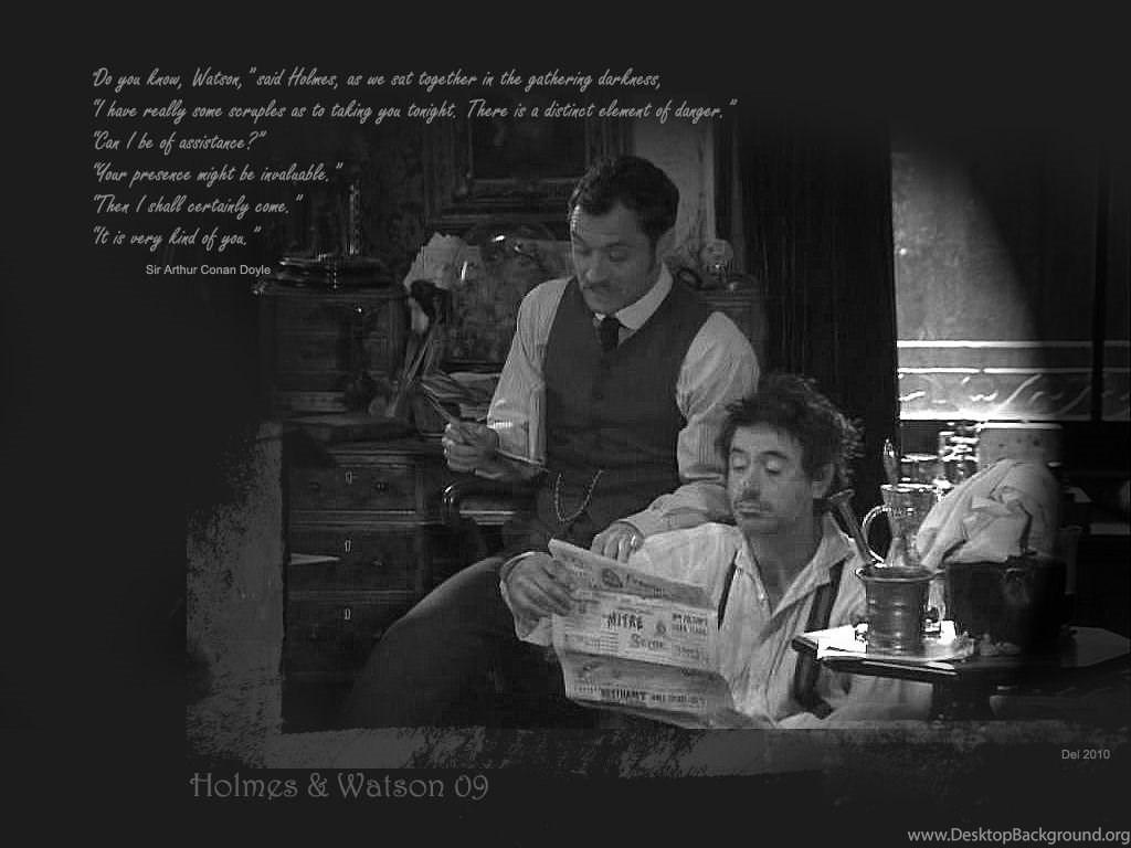 Sherlock Holmes Jude Law And Robert Downey Jr Wallpapers