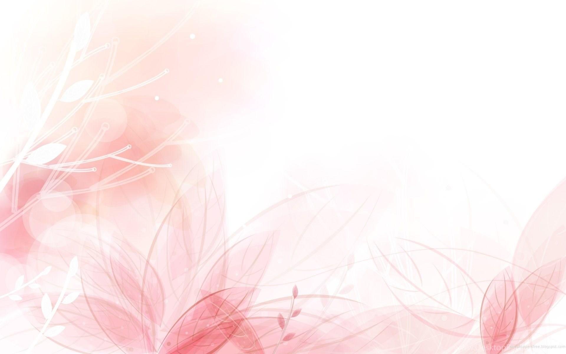 Light Pink Flower Wallpapers Desktop Background