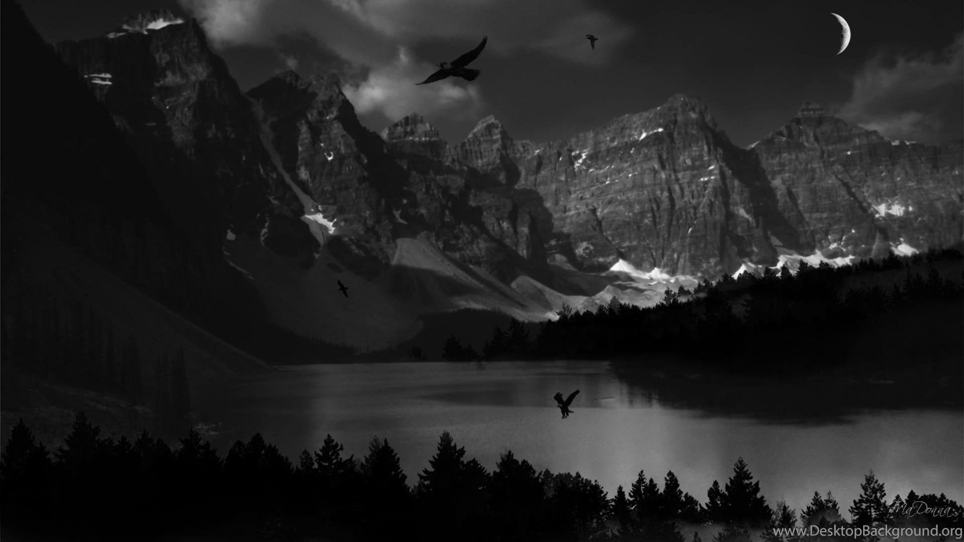Nature Hd Wallpapers 1080p Dark Desktop Background