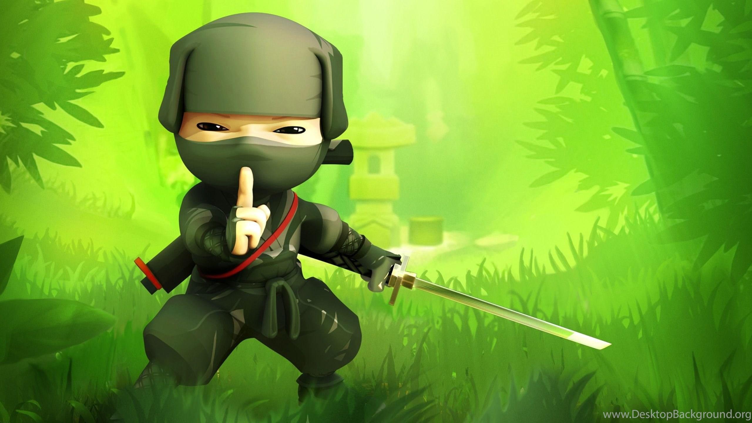 Download Ninja Cartoon Wallpapers HD Desktop Mobile Background