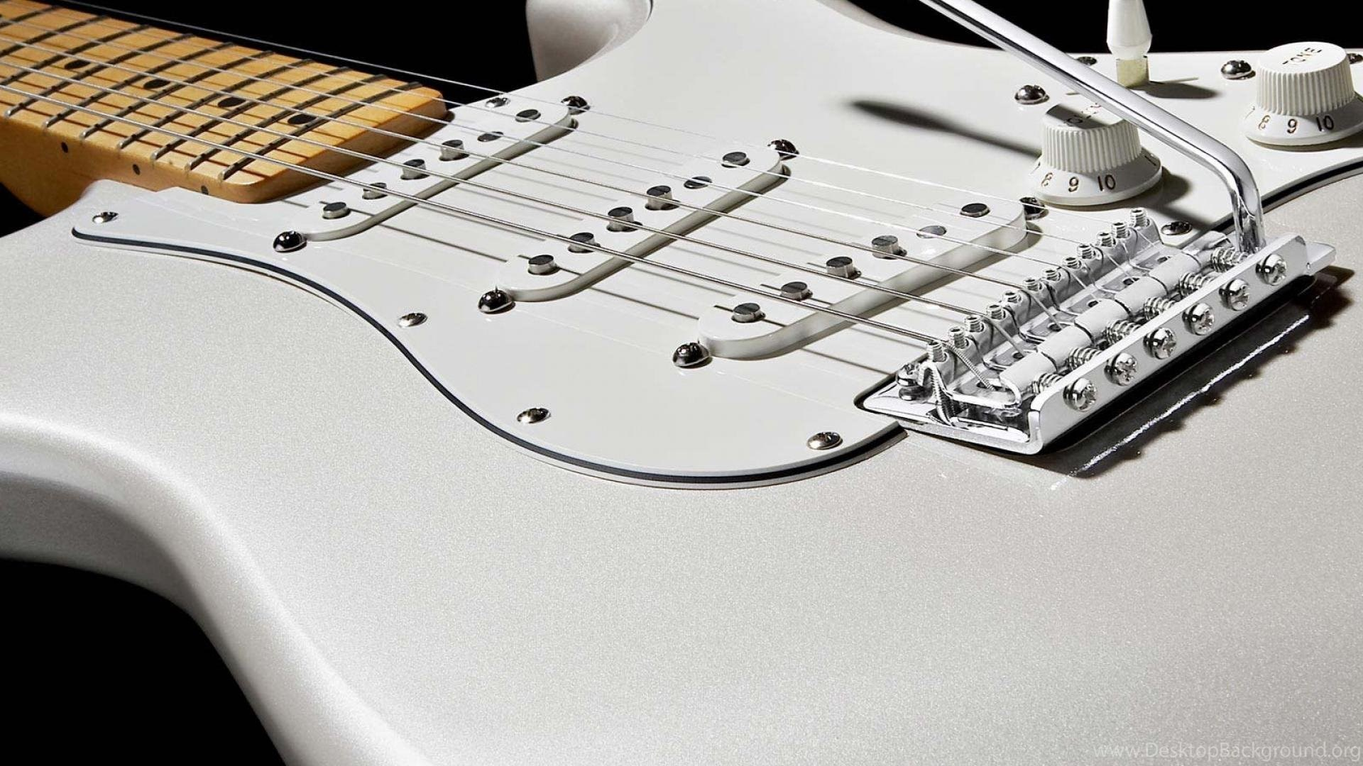 Guitar Fender White Color Music Instrument Hd Wallpapers Wallpapers