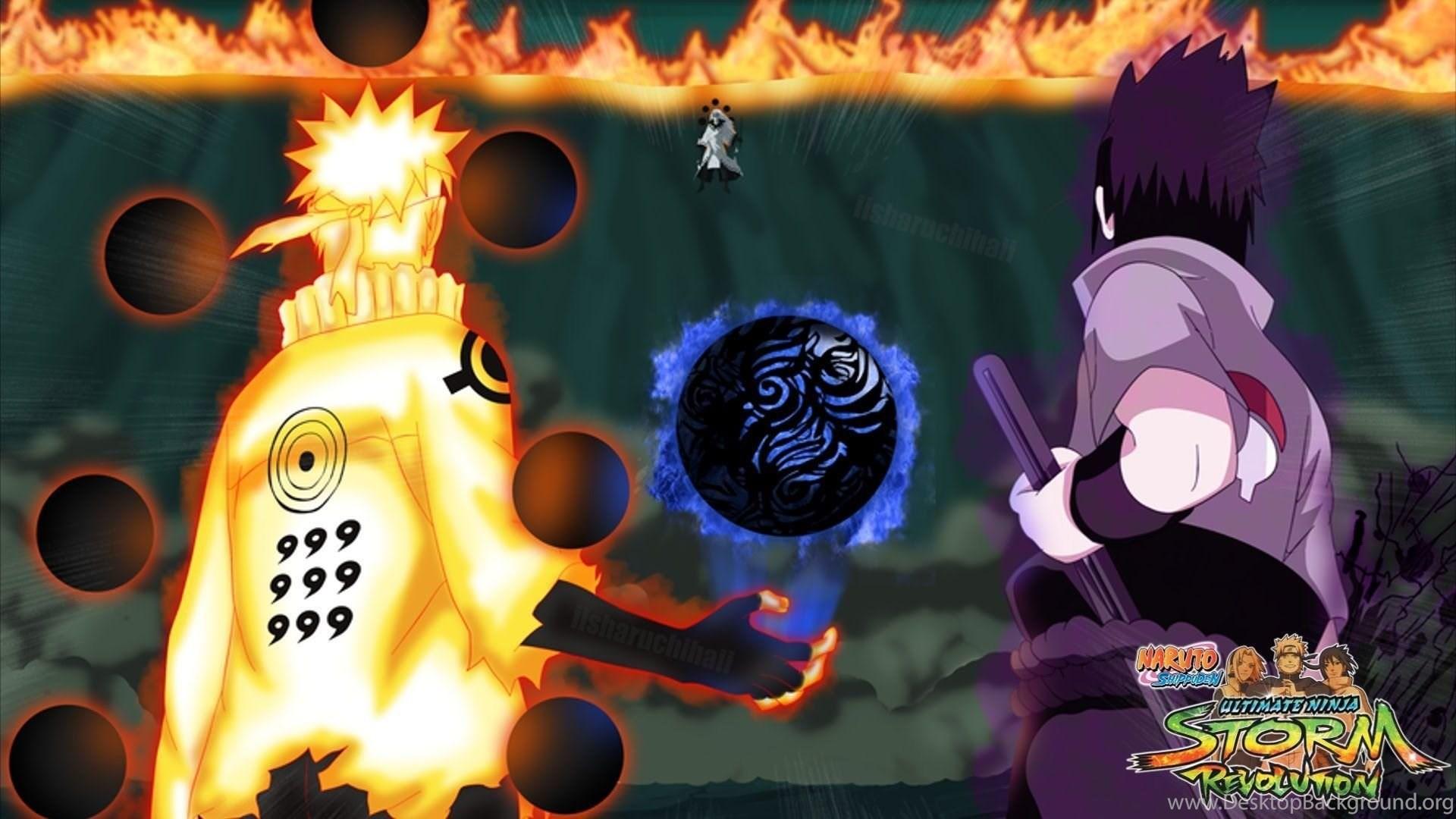 Naruto And Sasuke Vs Madara Wallpapers Desktop Background