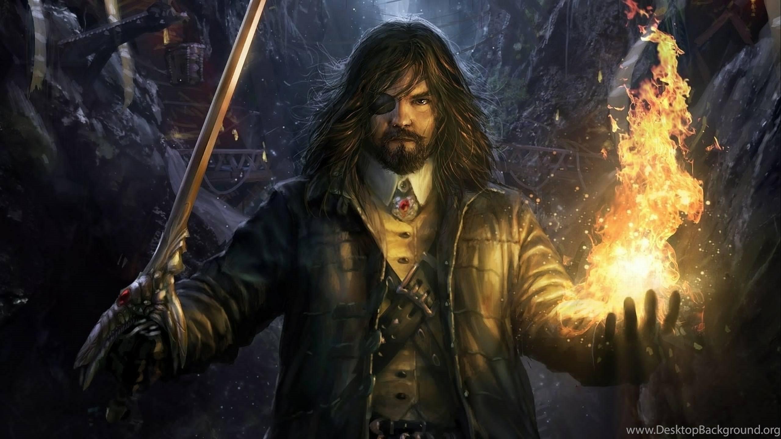 Fantasy Wizard Background 1 Hd Wallpapers: Fantasy Mage Wizard Sorcerer Art Artwork Magic Magician