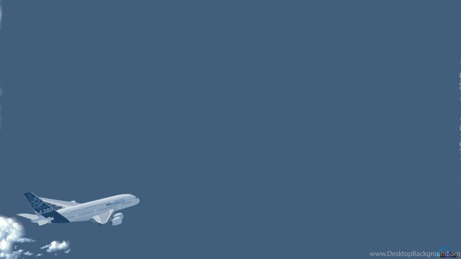 Download Wallpapers Airbus A380 Simple Wall 1920 X 1080 Hdtv 1080p Desktop Background