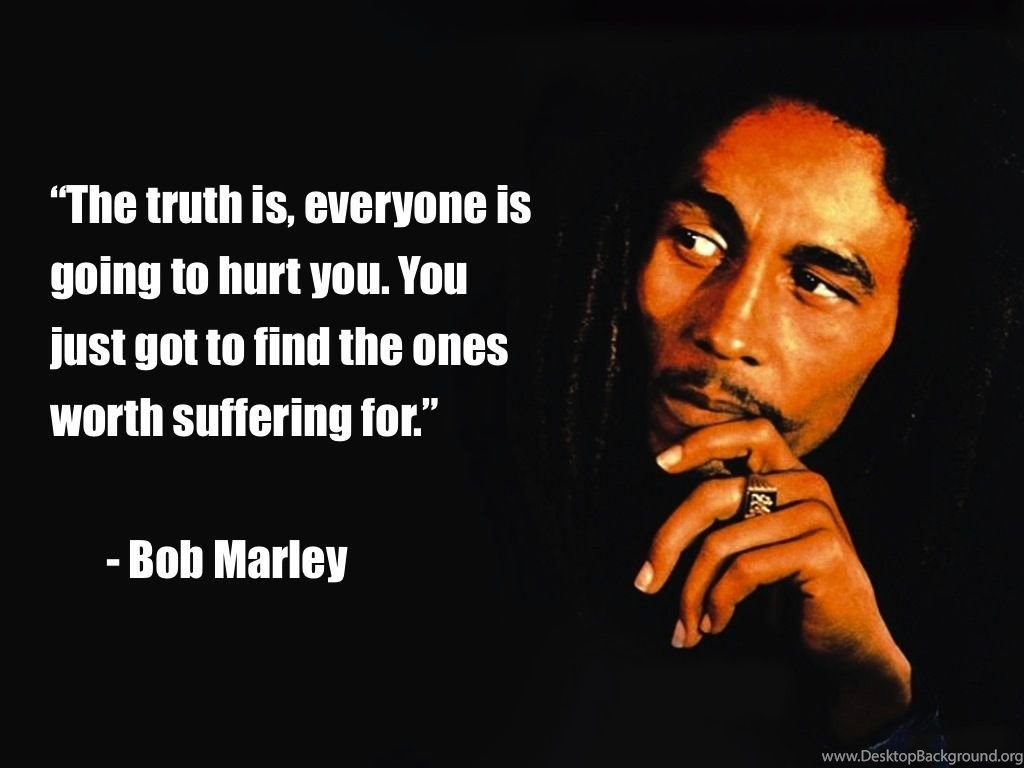 Bob Marley Quotes Wallpapers Desktop Background
