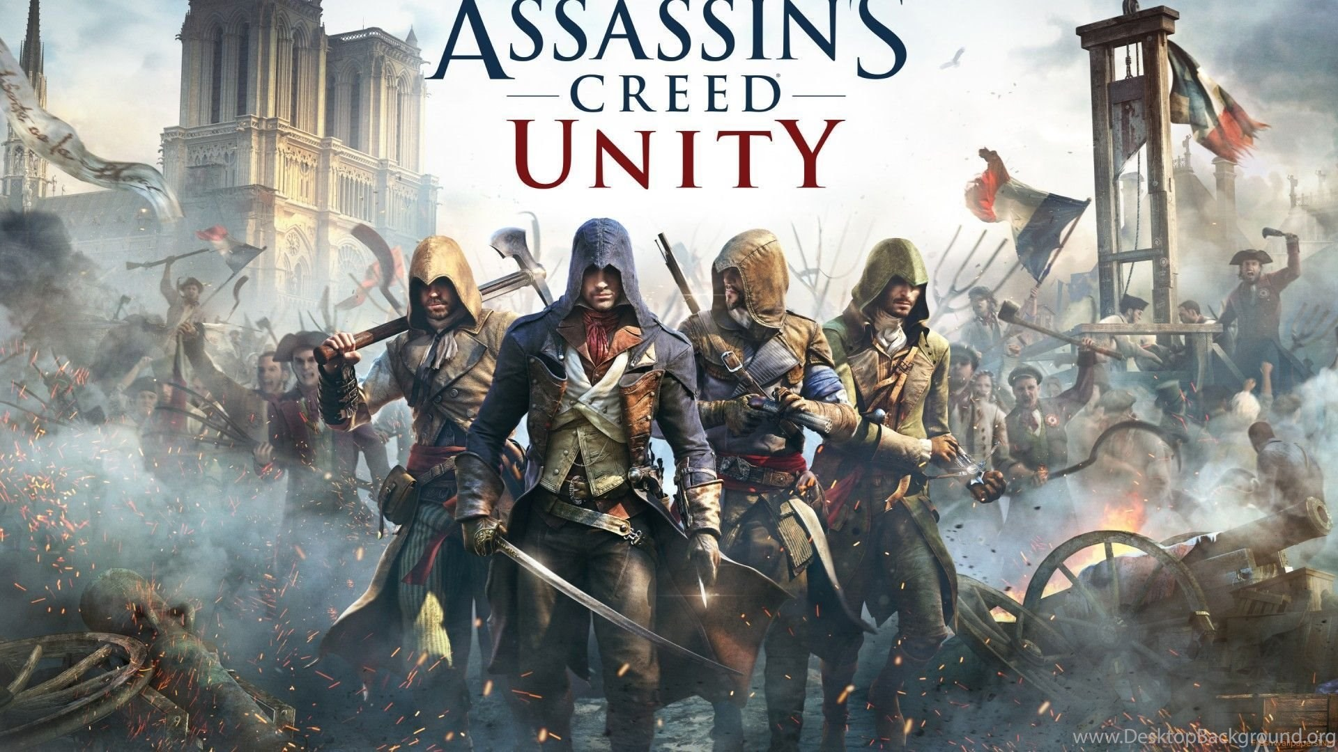 Assassin's Creed Unity Wallpapers Desktop Background