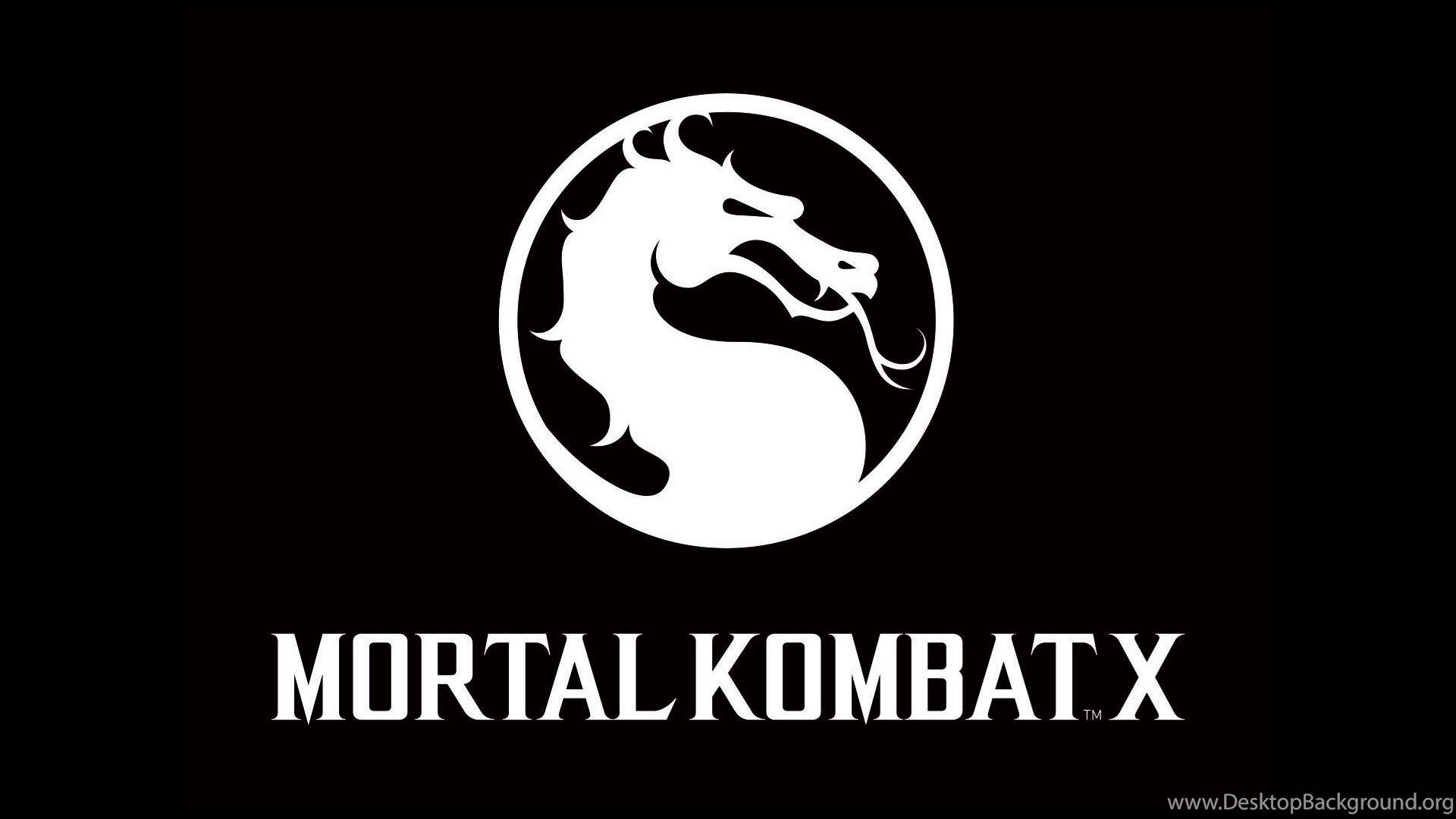 Mortal Kombat X Logo 1920x1080 Full Hd 16 9 Wallpapers Desktop