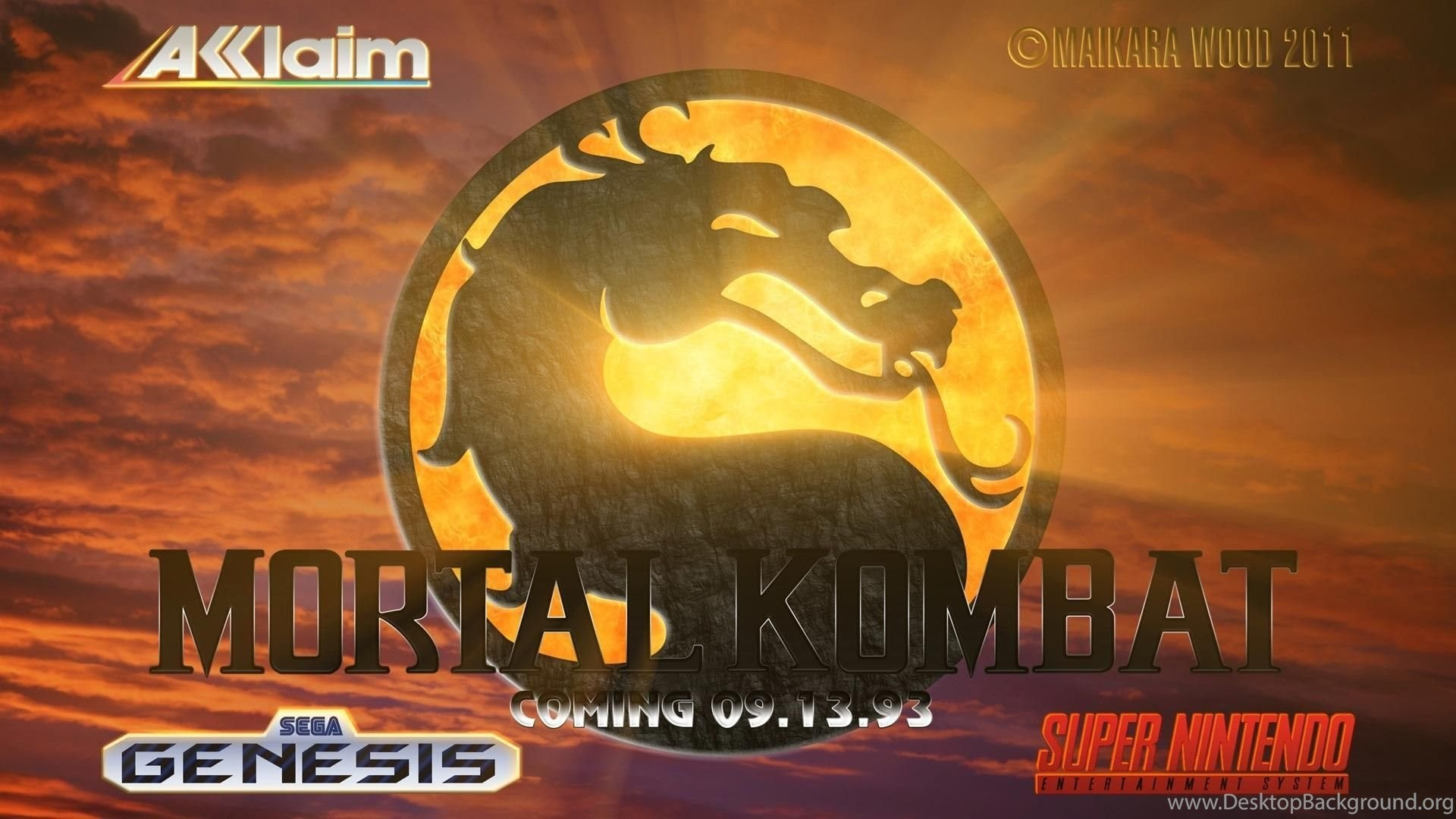 Mortal Kombat Ermac Wallpapers Widescreen Related Desktop