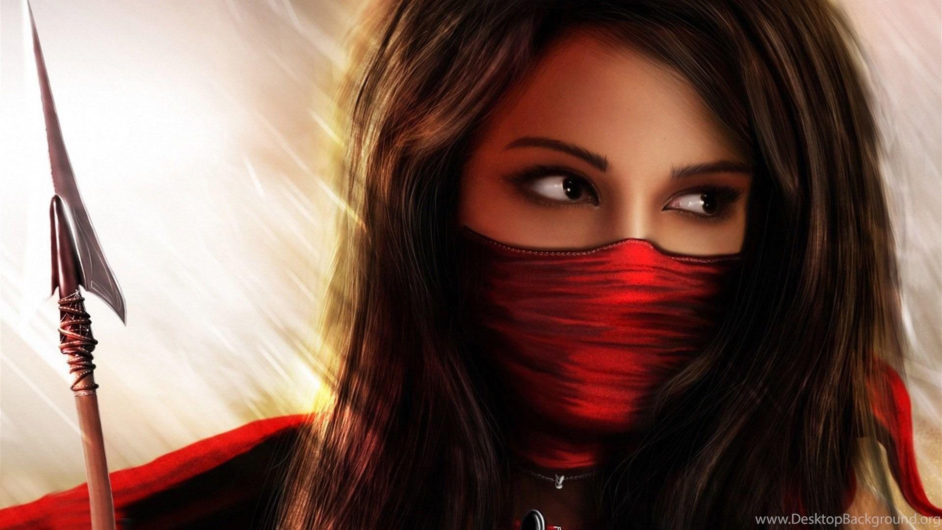 Ninja Fantasy Girl Wallpapers Hd 23889 Full Hd Wallpapers Desktop