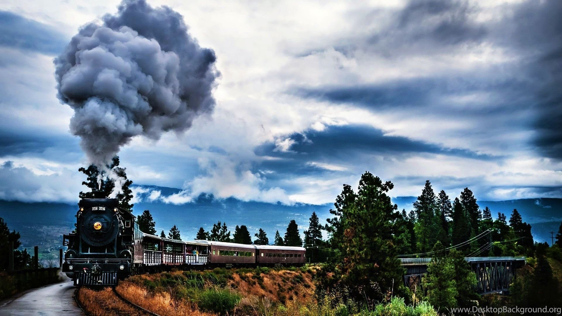 Steam Train Hd Wallpapers Hd Wallpaper Backgrounds Of Your Choice