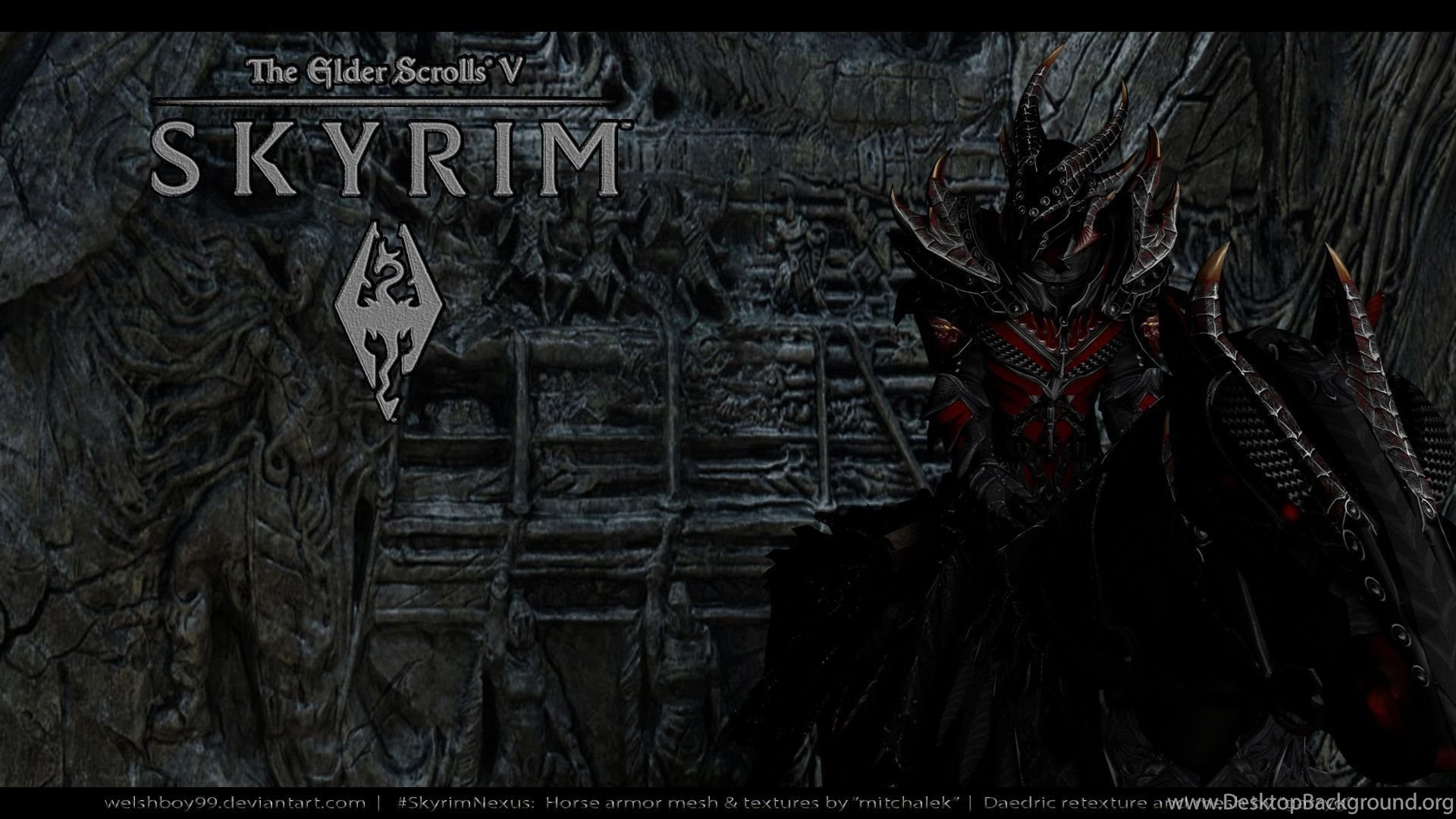 Skyrim Daedric Main Menu Replacer At Skyrim Nexus Mods And
