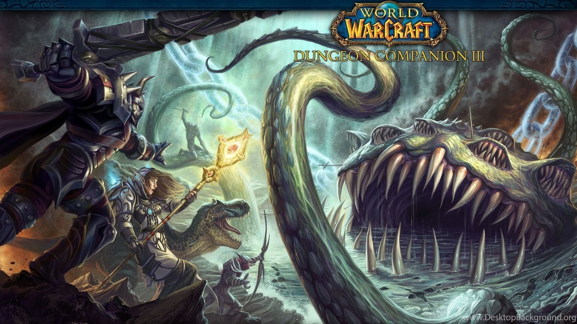 Download Wallpapers 1920x1080 World Of Warcraft Dungeon Copanion 3
