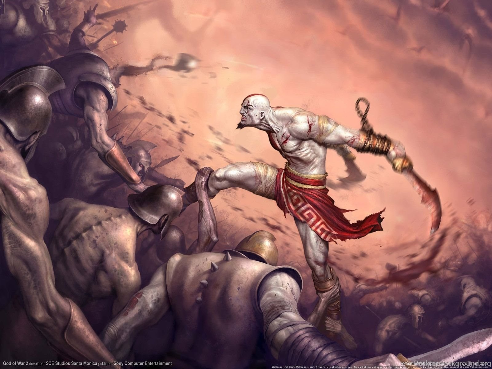 Kratos God Of War Wallpapers Desktop Background