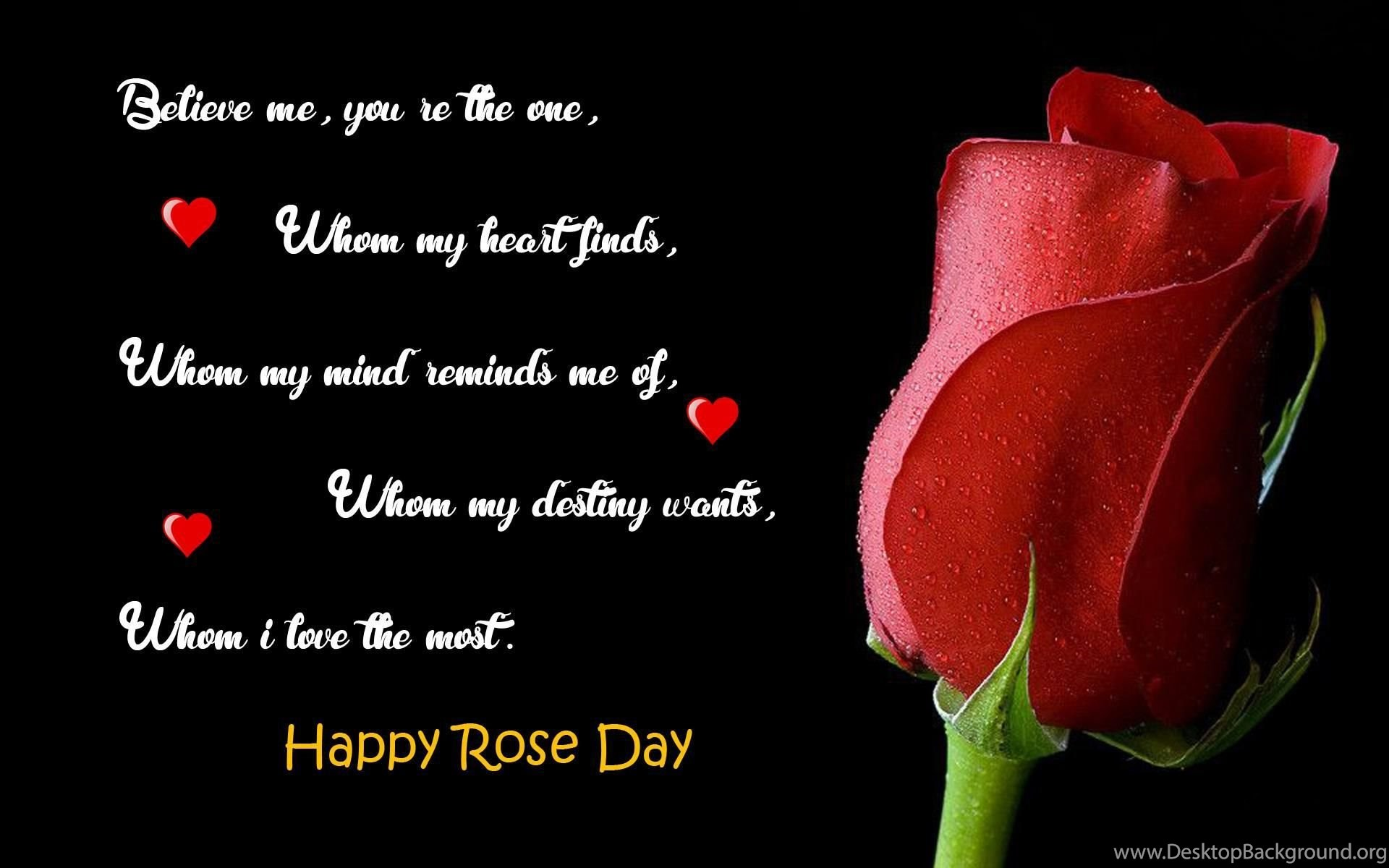 Happy Rose Day 2016 Images With Quotes Hd Download Best Whatsapp