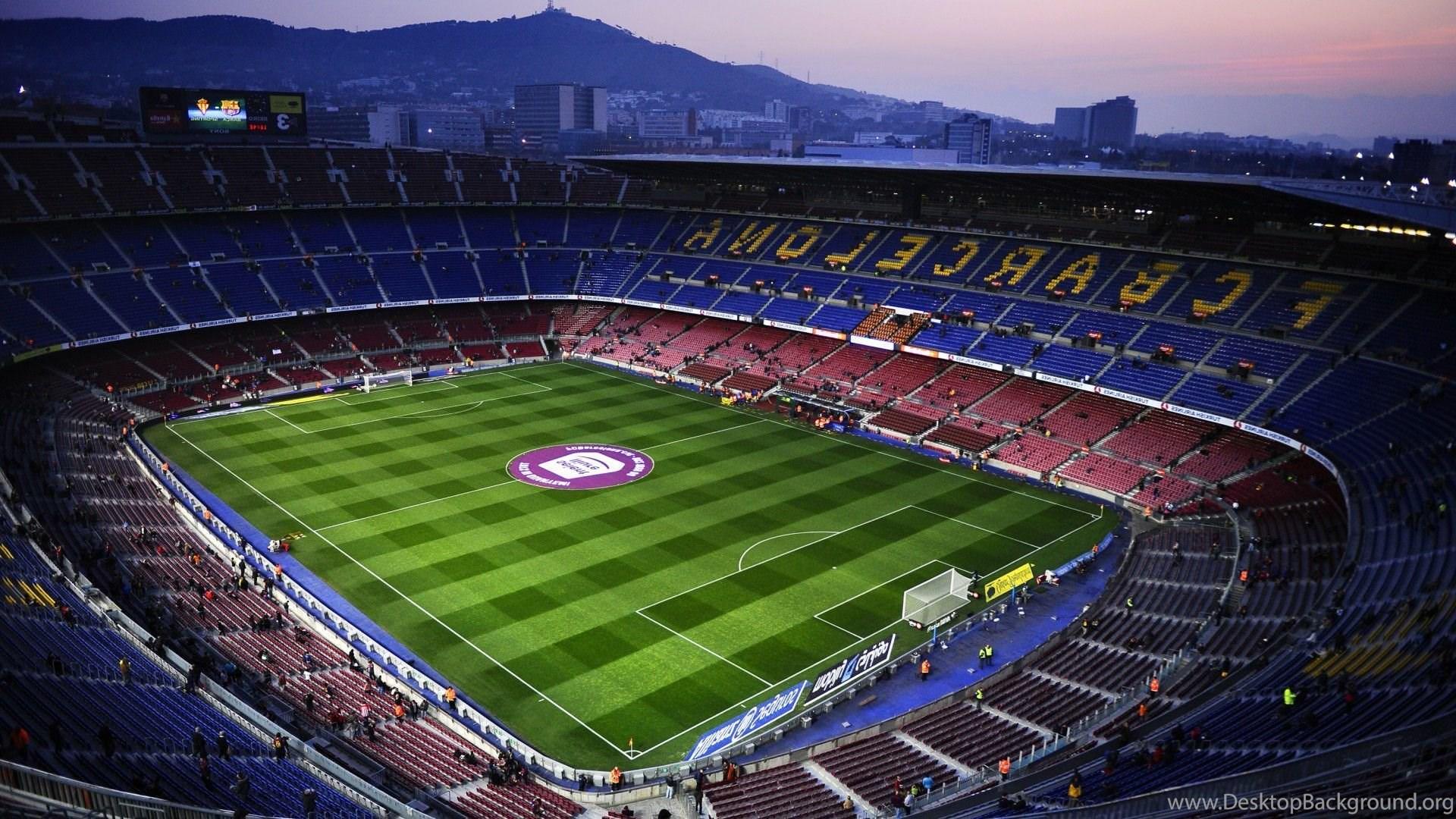 Fc Barcelona Camp Nou Soccer Clubs Soccer Wallpapers Hd