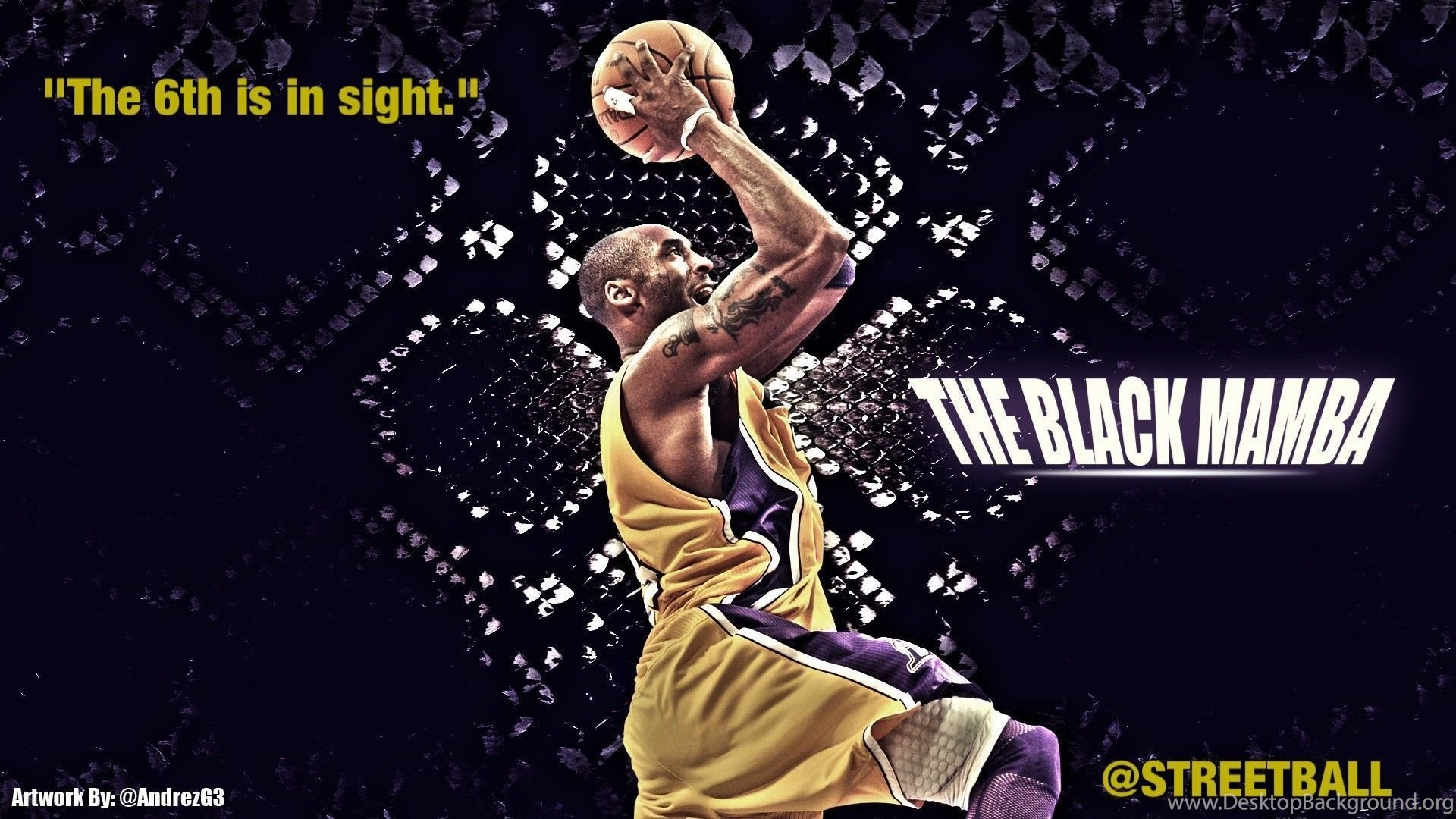 Kobe Bryant Wallpapers Black Mamba 1790173 Desktop Background