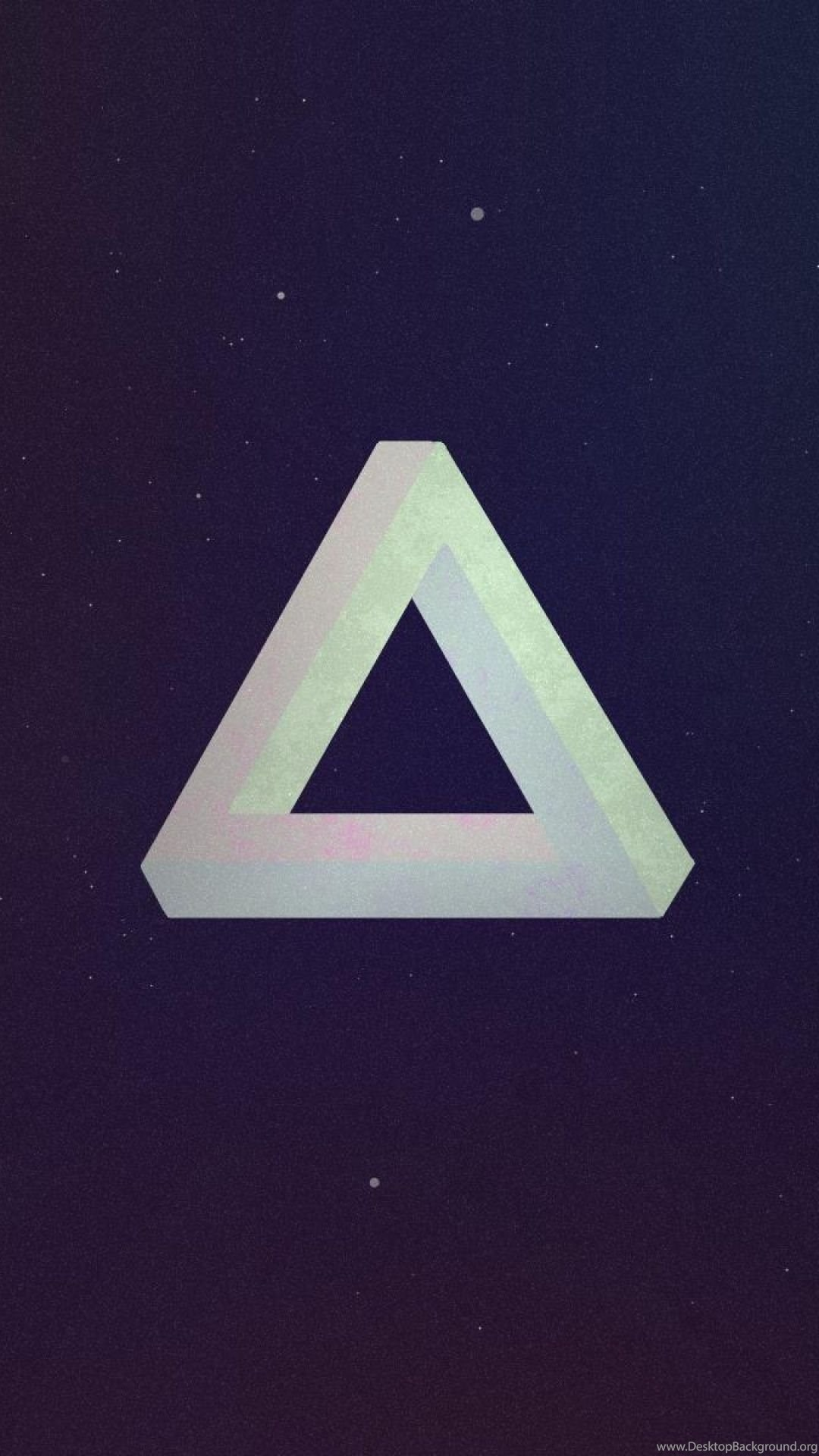 Hipster Triangle Post Modern Abstract Minimalist Art S4 Wallpapers