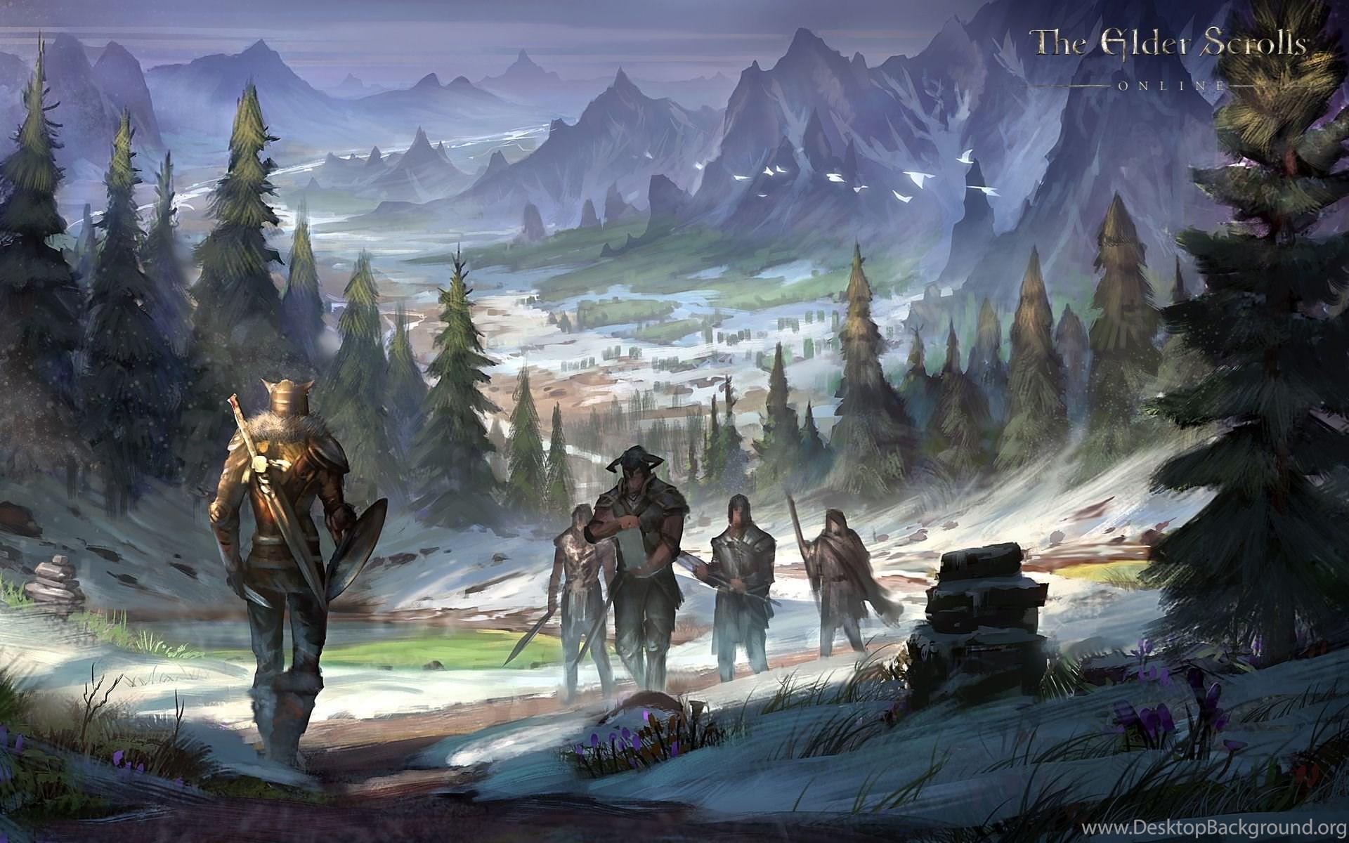 Wallpapers The Elder Scrolls Online Ouroboros The Elder Scrolls