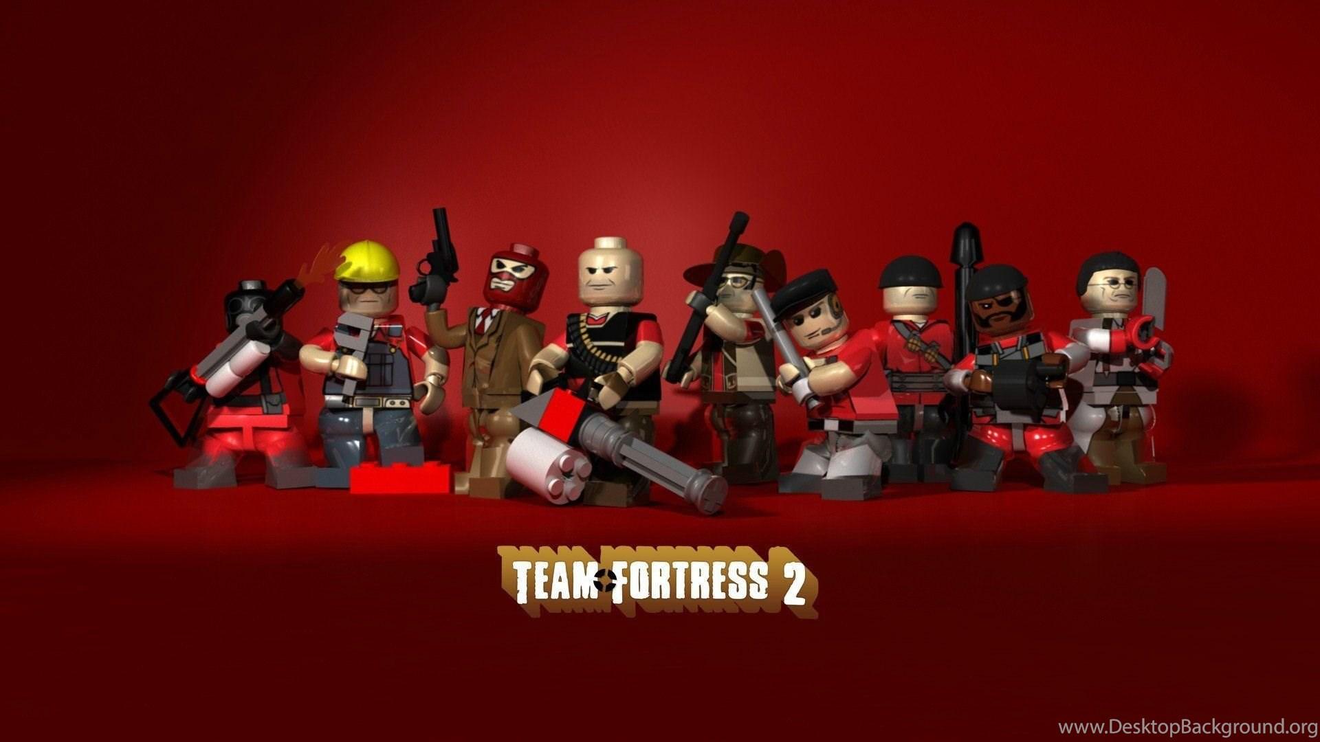 Video Games Team Fortress 2 Legos Wallpapers Desktop Background