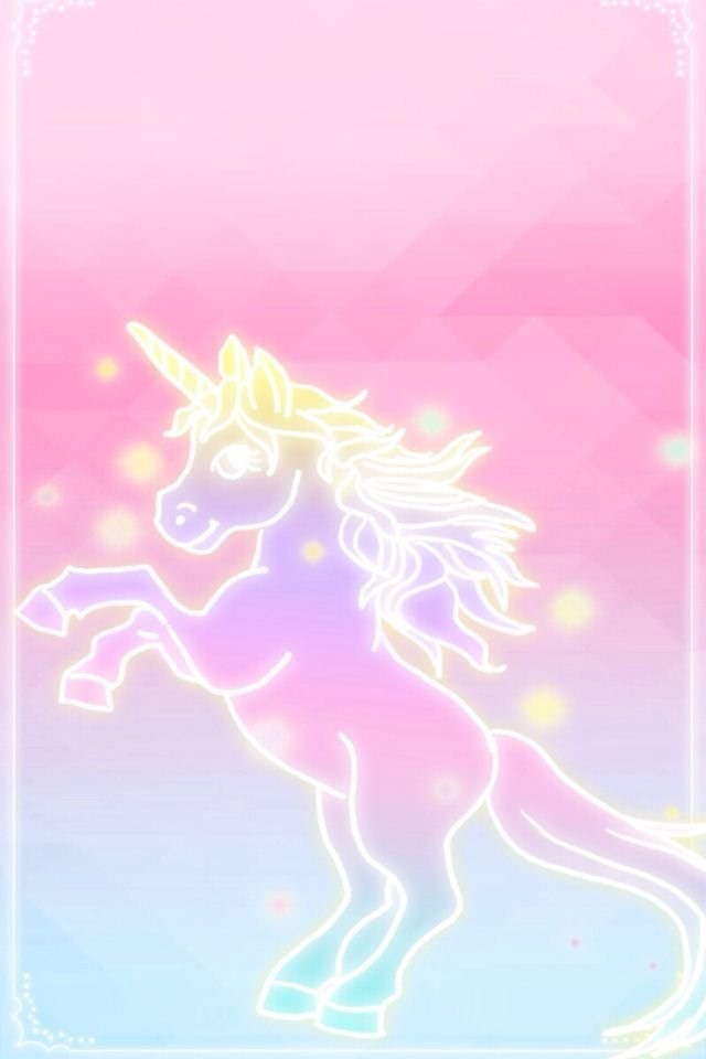 Unicorn Pink Fades To Blue Wallpapers Iphone Backgrounds