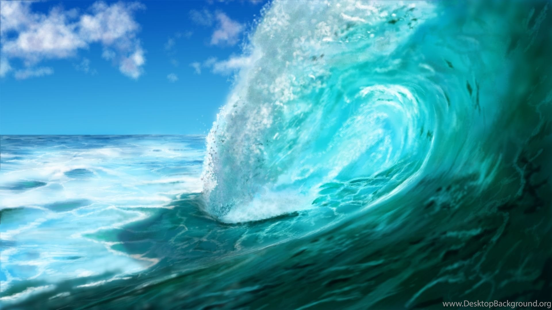 Ocean waves wallpapers tumblr desktop background - Ocean pictures for desktop background ...