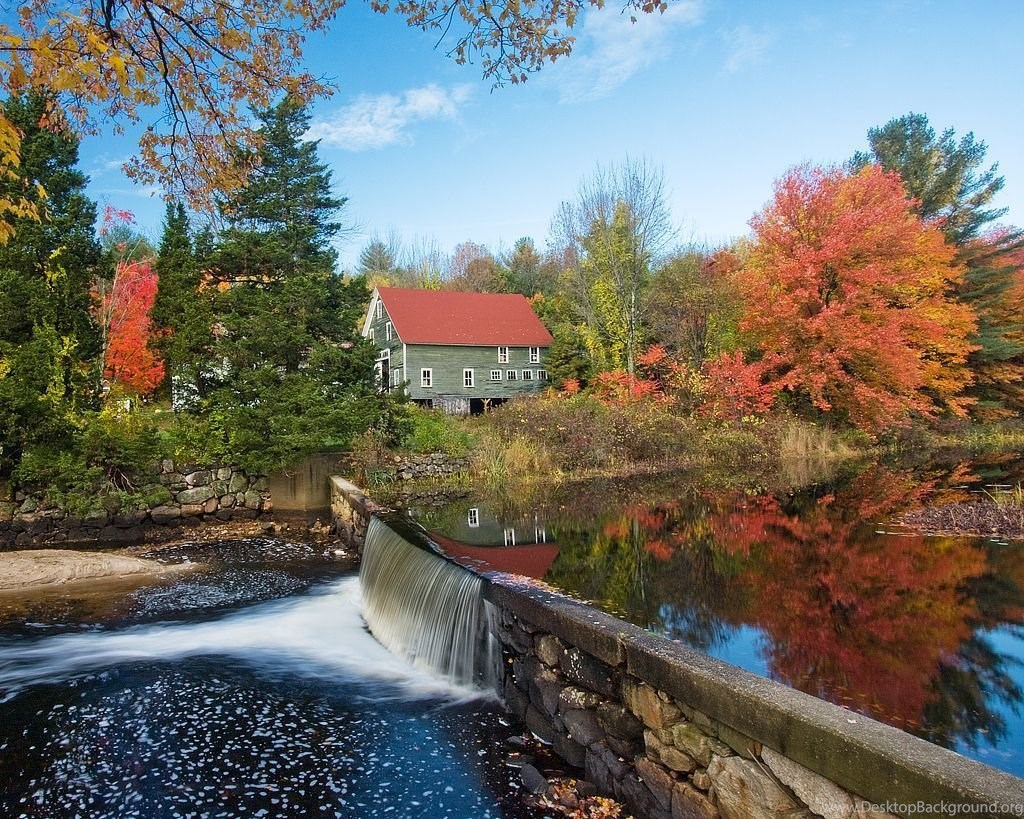 Gallery For Desktop Wallpapers New England Fall Desktop Background