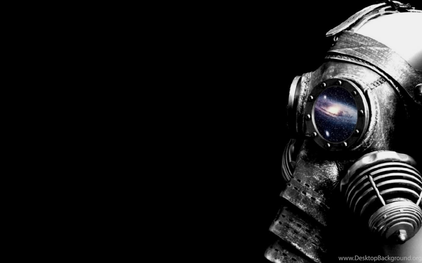 Cool Skull With Gas Mask Wallpapers Desktop Background