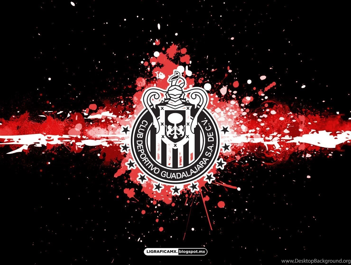 Hd guadalajara fc logo hd wallpapers database desktop background 1480x1120 voltagebd Image collections