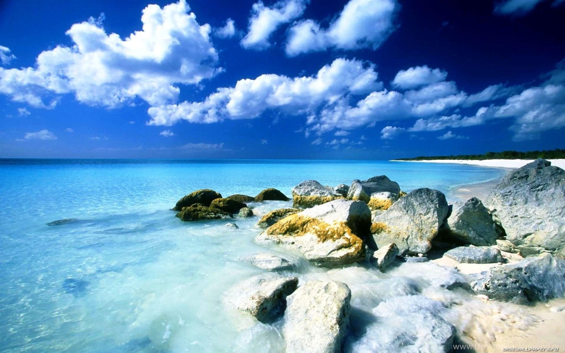 Free Desktop Wallpapers Beach Scenes Beautiful Photos Of