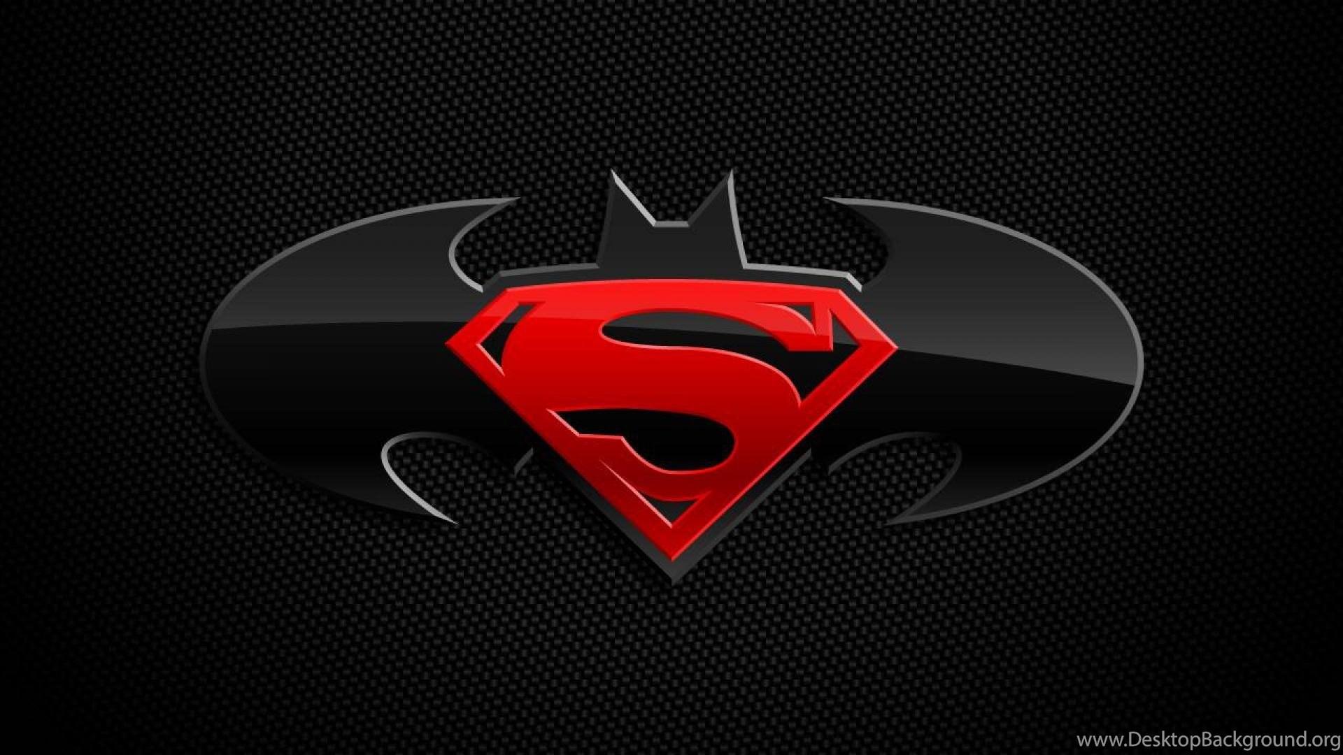 Batman Logo Dc Comics Superman Wallpapers Desktop Background
