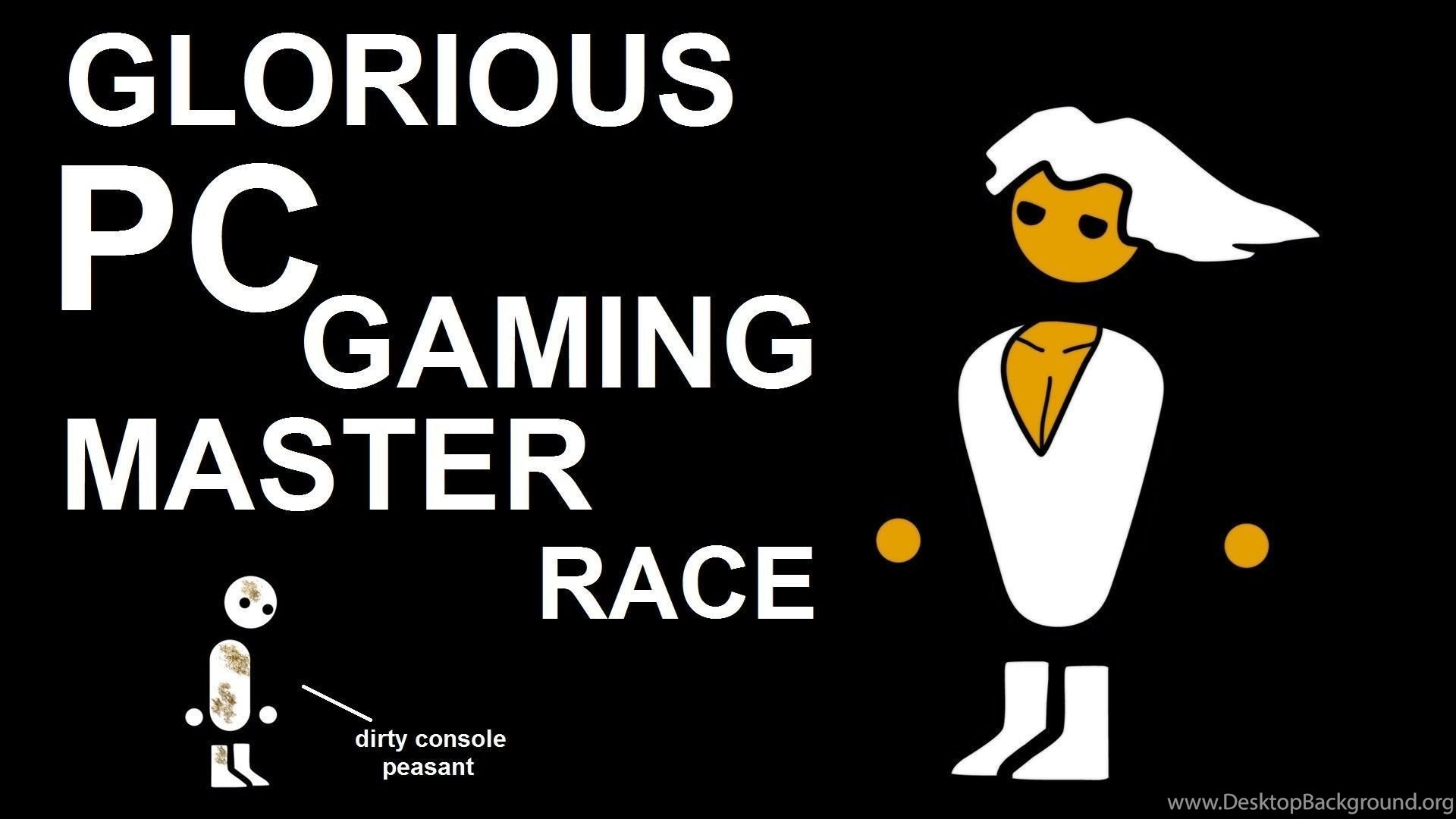 The Pc Master Race Image The Debating Society Mod Db Desktop