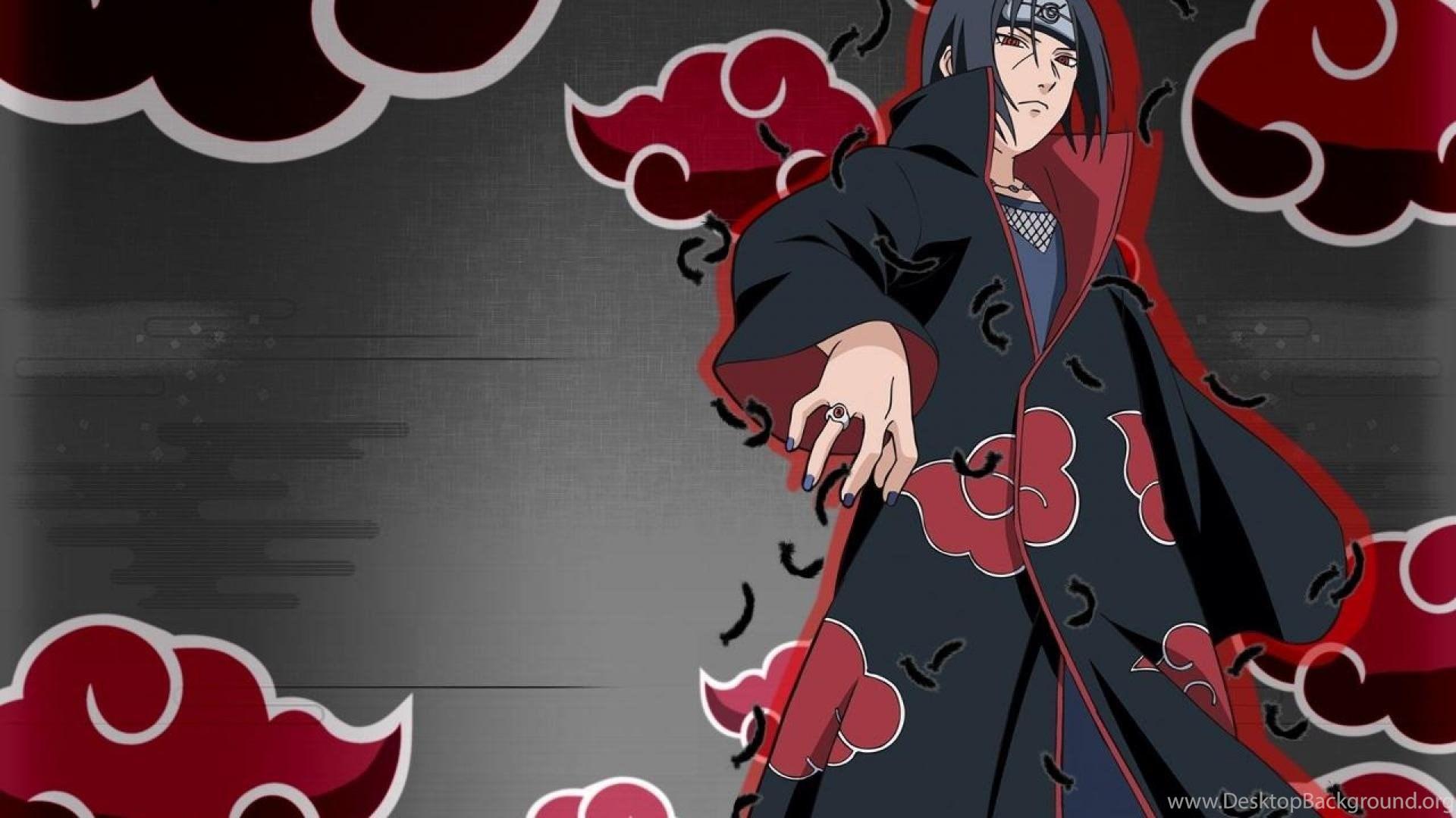Itachi Uchiha Naruto Madara Uchiha Anime 1920x1080 Hd Desktop Background