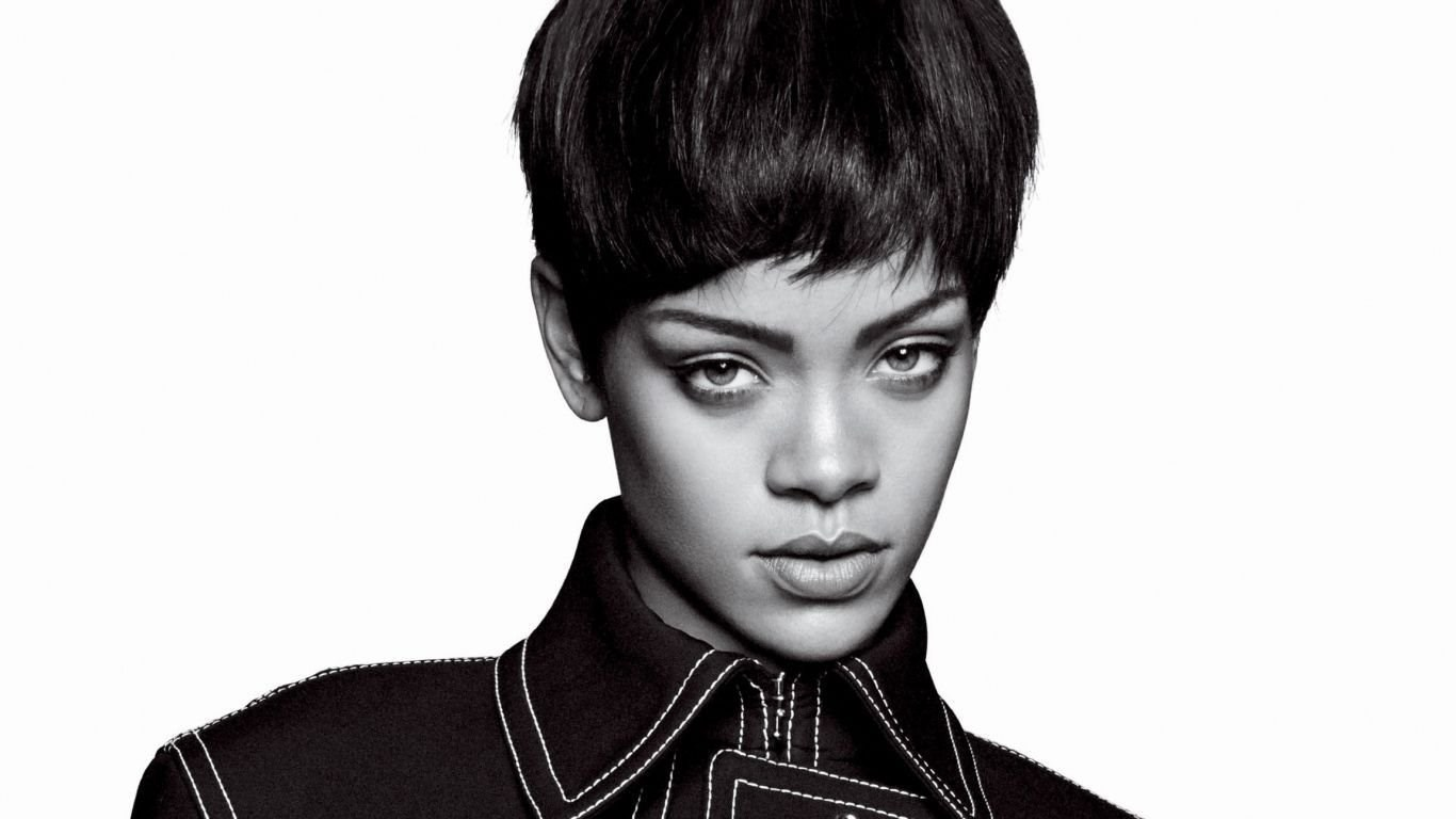 laptop 1366x768 rihanna wallpapers hd, desktop backgrounds 1366x768