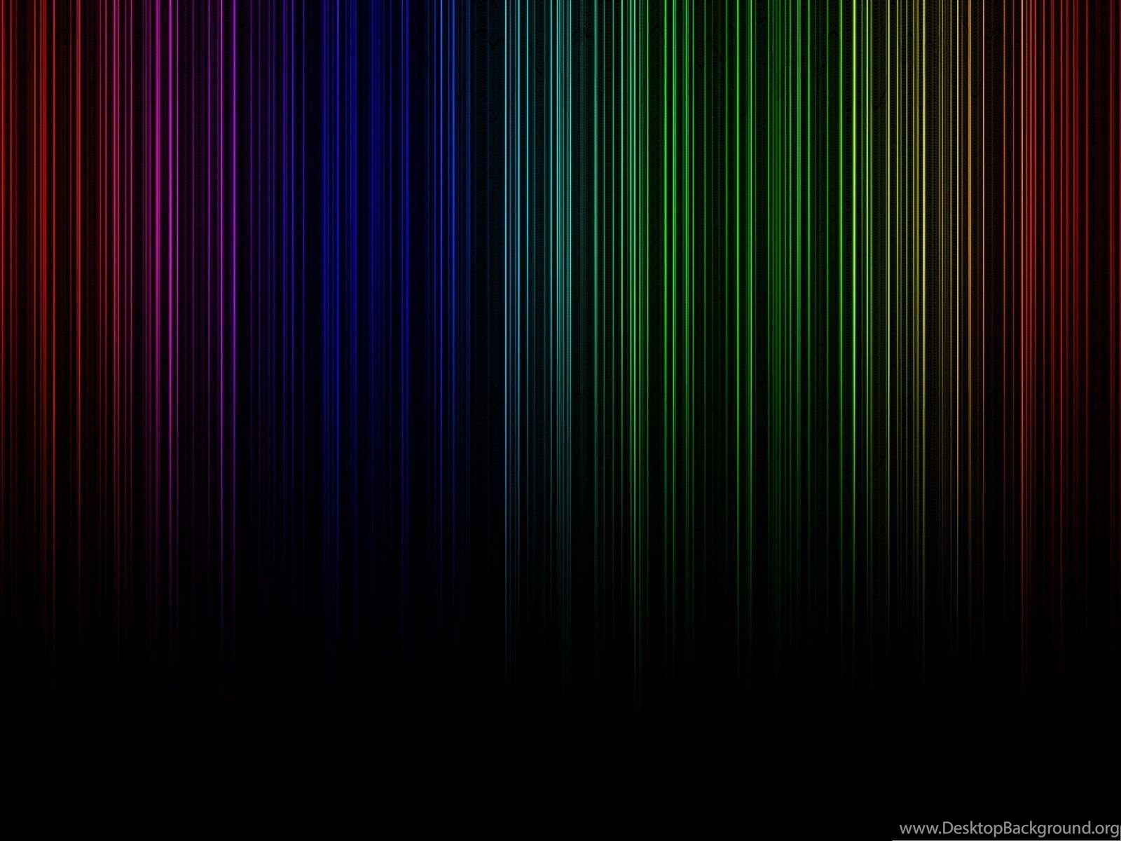 Hd Wide Wallpapers Dark Rainbow Colorful And Nice Looking