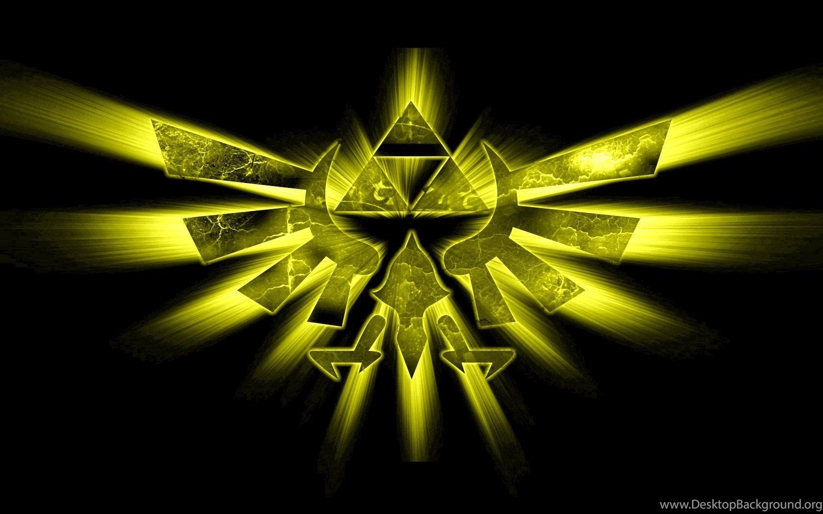 Triforce The Legend Of Zelda Wallpapers Desktop Background