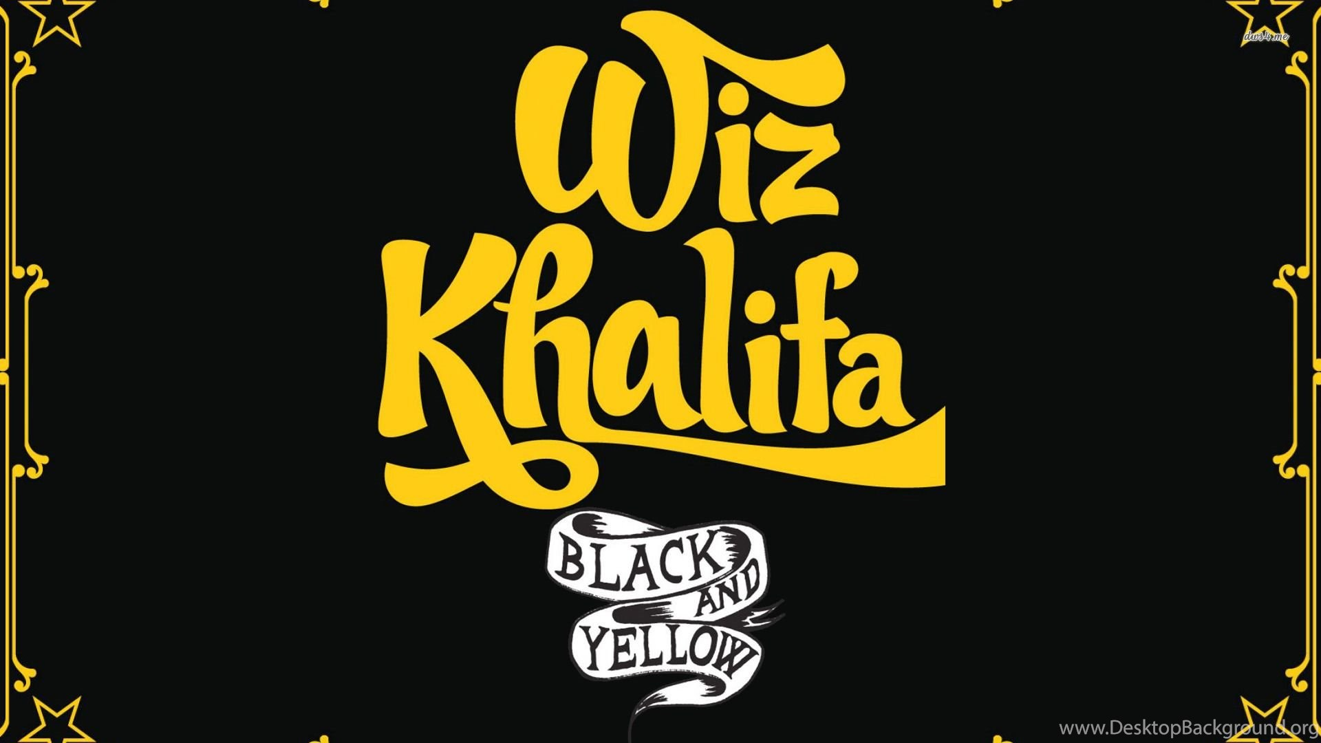 Wiz Khalifa Black And Yellow Wallpapers Music Wallpapers Desktop